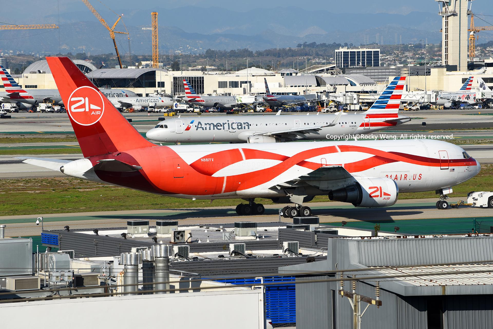 Re:[原创]随便来一组 不凑30图了 BOEING 767-241(ER)(BDSF) N881YV Los Angeles Int'l Airport