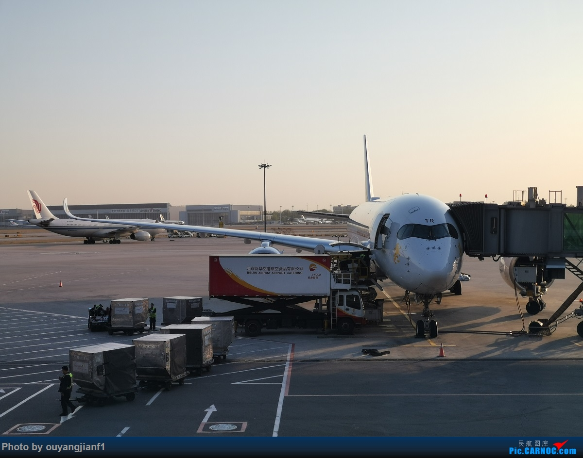 Re:[原创]终于有时间歇下来了,可以好好总结一下2019年的飞机游记了,第二段,在Jet Airways停航的当天造访印度,附带AIR INDIA之初体验! AIRBUS A350-900 ET-ATR 中国北京首都国际机场