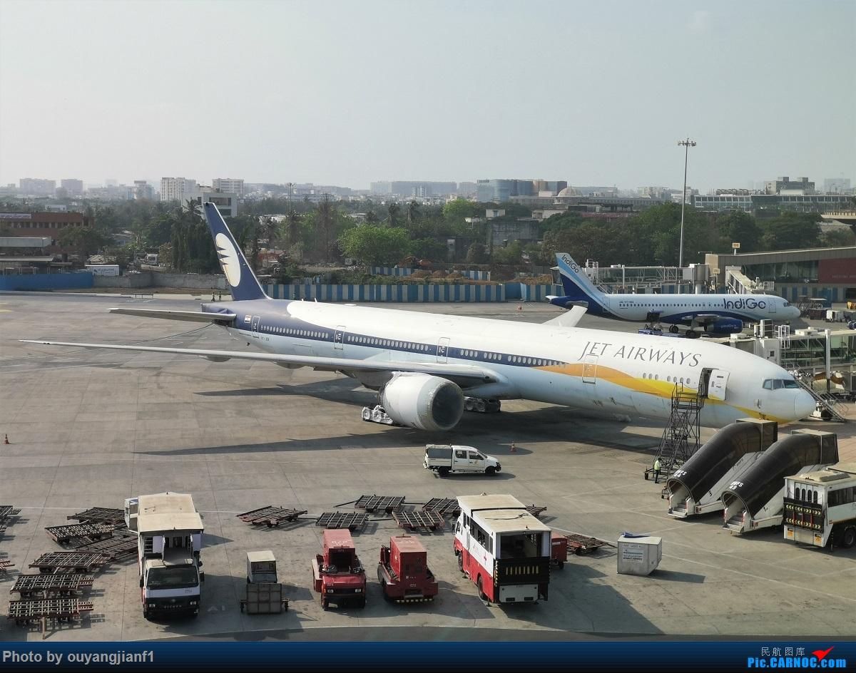 Re:[原创]终于有时间歇下来了,可以好好总结一下2019年的飞机游记了,第二段,在Jet Airways停航的当天造访印度,附带AIR INDIA之初体验! BOEING 777-300ER VT-JEX 印度孟买贾特拉帕蒂·希瓦吉国际机场