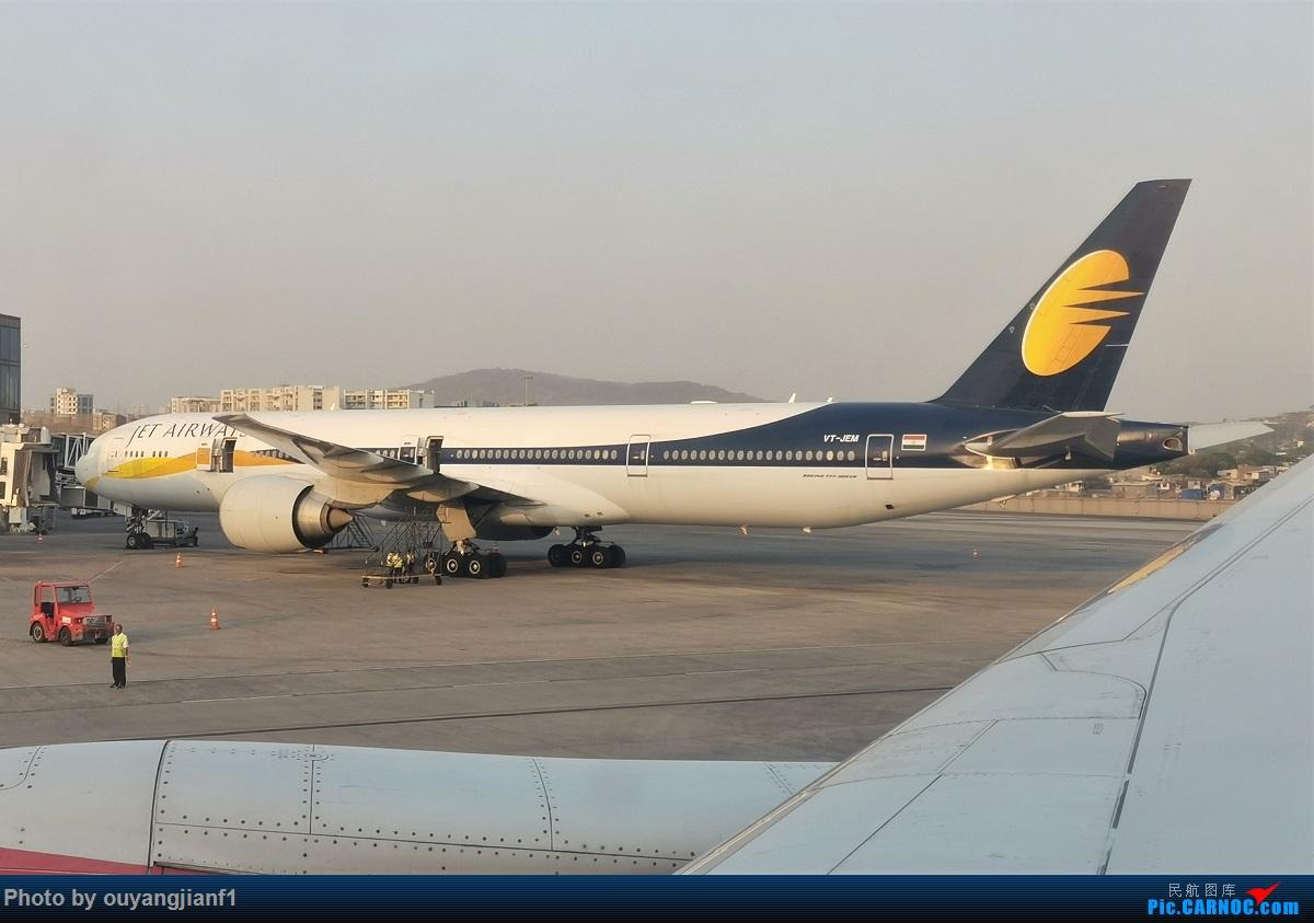 Re:[原创]终于有时间歇下来了,可以好好总结一下2019年的飞机游记了,第二段,在Jet Airways停航的当天造访印度,附带AIR INDIA之初体验! BOEING 777-300ER VT-JEM 印度孟买贾特拉帕蒂·希瓦吉国际机场