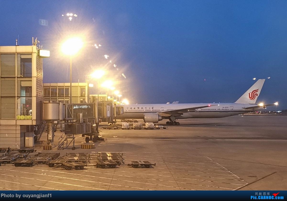 Re:[原创]终于有时间歇下来了,可以好好总结一下2019年的飞机游记了,第二段,在Jet Airways停航的当天造访印度,附带AIR INDIA之初体验! BOEING 777-300ER B-2031 中国北京首都国际机场