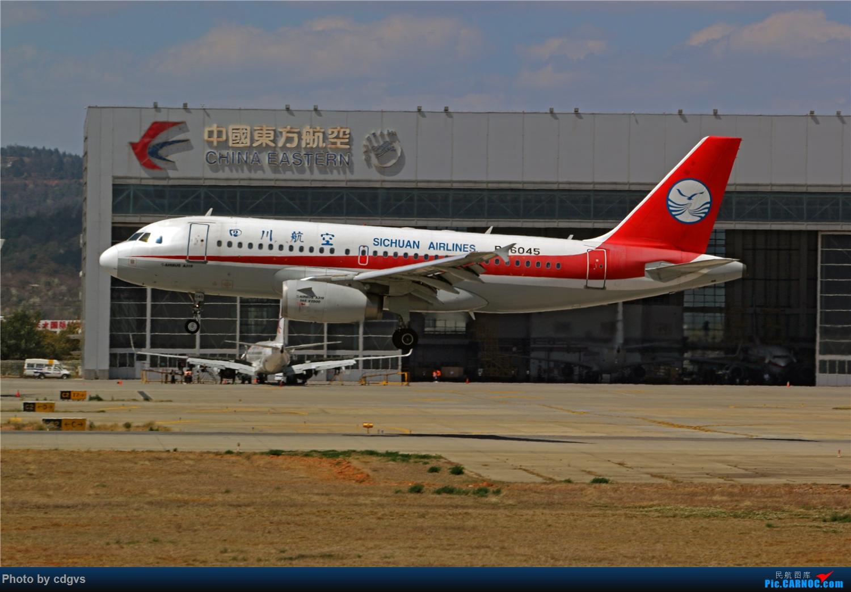 Re:[原创]【KMG】疫情期间 长水走一走 多图 AIRBUS A319-100 B-6045 中国昆明长水国际机场
