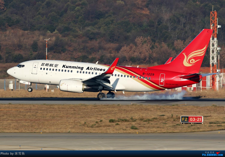 Re:[原创]【KMG】疫情期间 长水走一走 多图 BOEING 737-700 B-1229 中国昆明长水国际机场