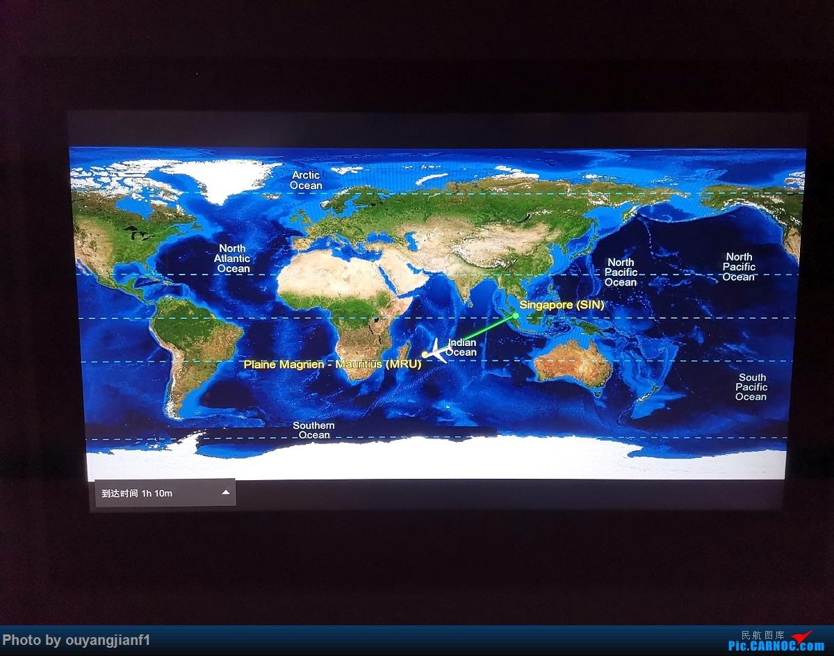 Re:[原创]终于有时间歇下来,可以好好总结一下2019年的飞机游记了,第三段,在新加坡参观星耀樟宜,在非洲穿行毛里求斯,在欧洲俯瞰大巴黎,第一次体验毛航359之旅1 AIRBUS A330-200 3B-NBL 空中