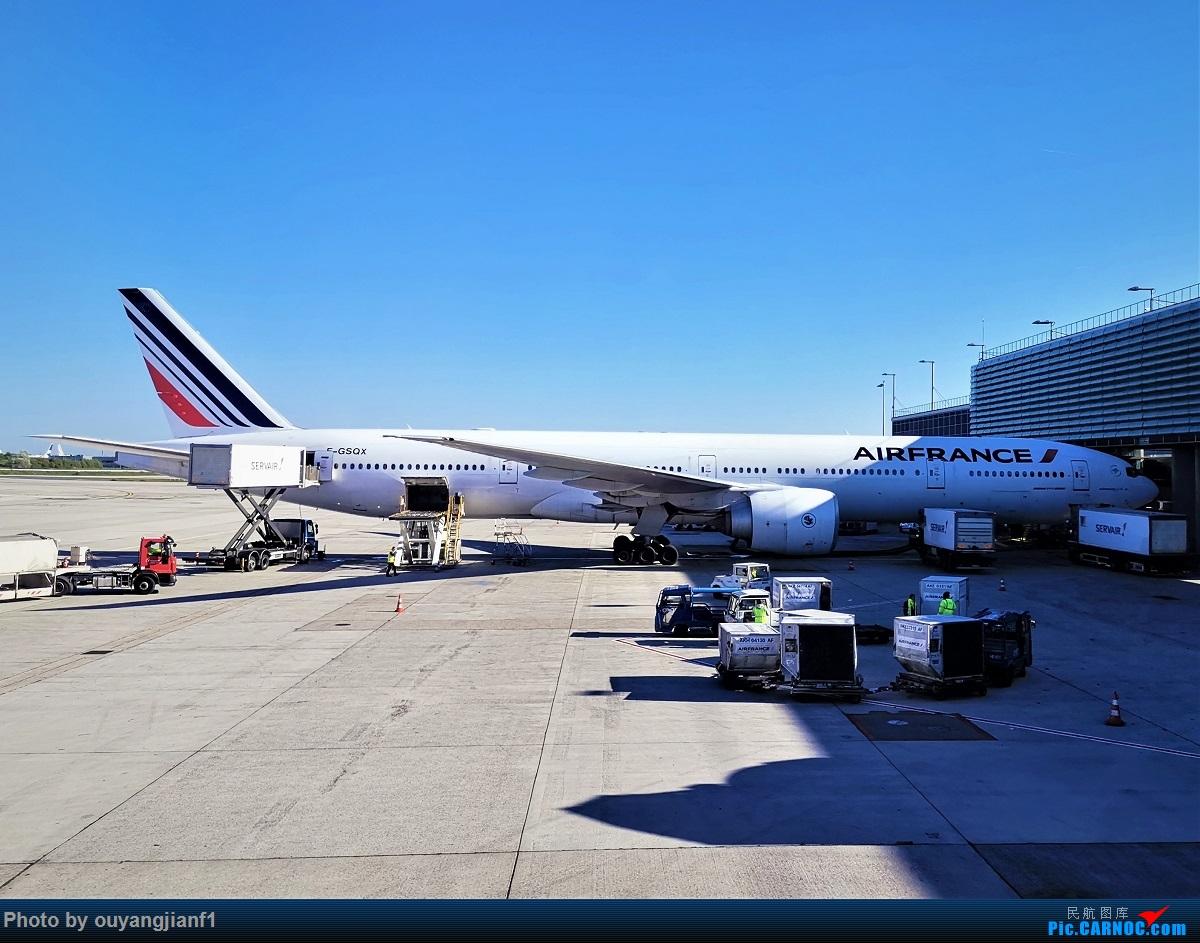 Re:[原创]终于有时间歇下来,可以好好总结一下2019年的飞机游记了,第三段,在新加坡参观星耀樟宜,在非洲穿行毛里求斯,在欧洲俯瞰大巴黎,第一次体验毛航359之旅1 BOEING 777-300ER F-GSQX 法国戴高乐机场