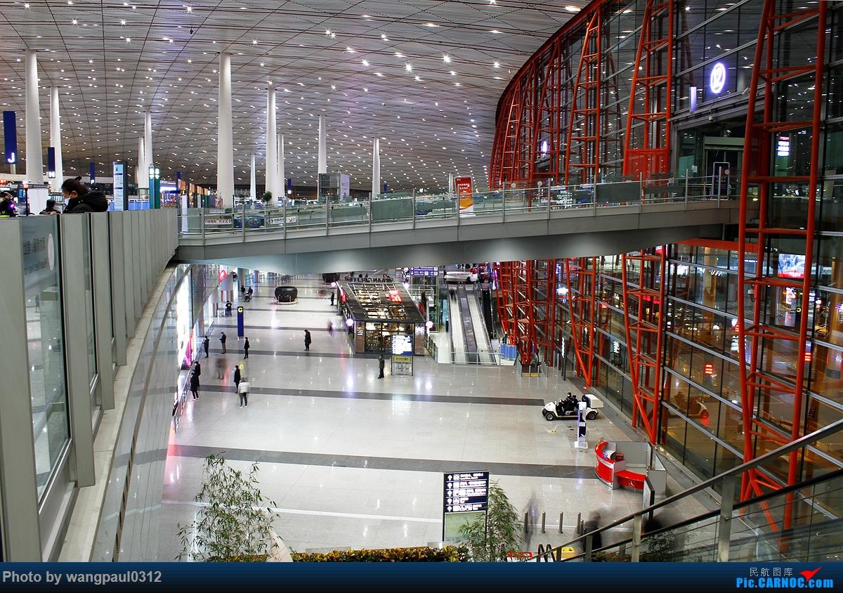 [原创]空空荡荡的首都机场T3航站楼    中国北京首都国际机场