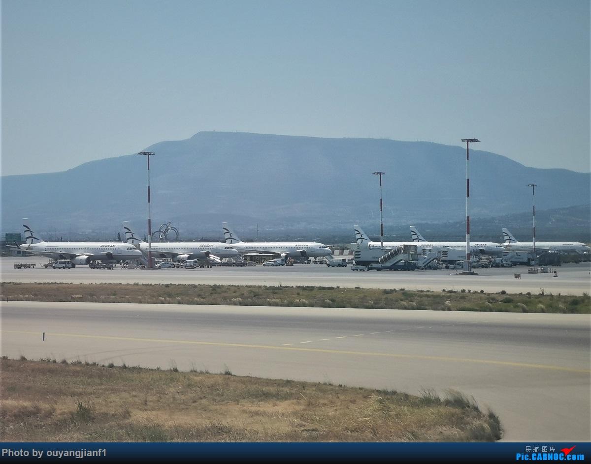 Re:[原创]终于有时间歇下来,可以总结一下2019年飞机游记了,第四段,十七天八国十一飞,跨越欧洲、非洲大陆,偶遇塞尔维亚篮球队,探秘古埃及!解锁塞尔维亚航、爱琴海、埃及航    希腊雅典国际机场