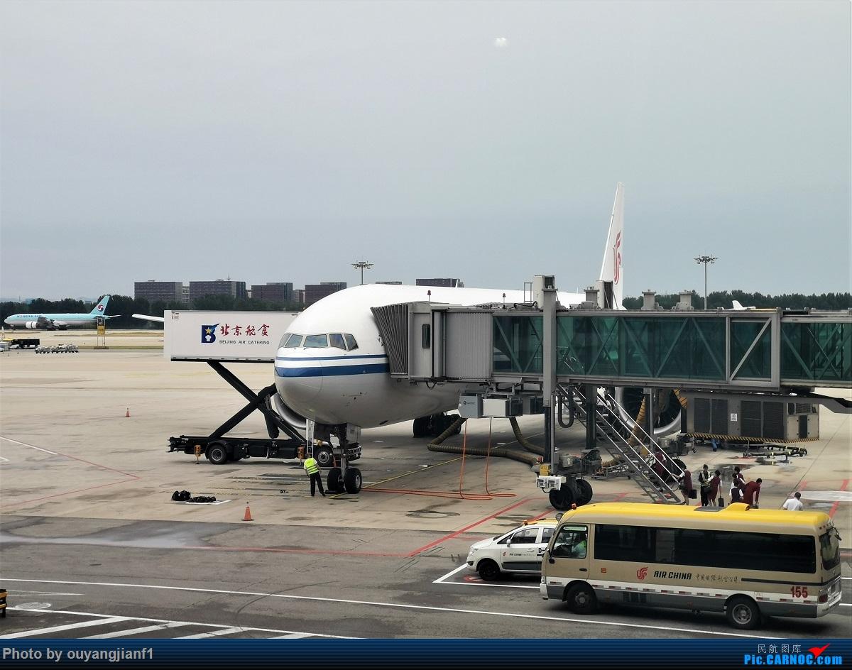 [原创]终于有时间歇下来,可以总结一下2019年飞游记了,第五段,最疯狂的飞行,十二天内十二飞,五万公里穿越亚、欧、美,去往地球另一端拉美世界的第二次环球飞行! BOEING 777-300ER B-2087 中国北京首都国际机场