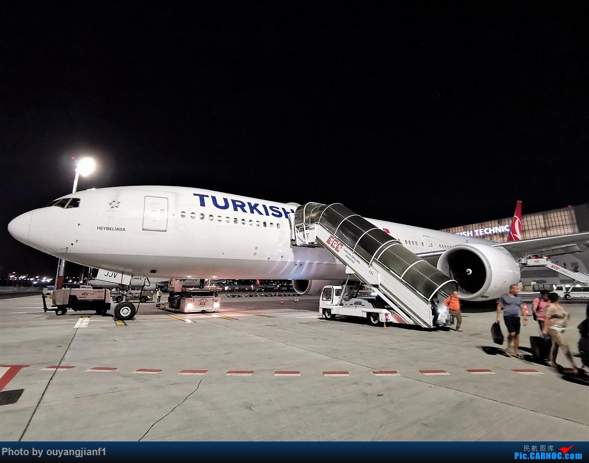 Re:[原创]终于有时间歇下来,可以总结一下2019年飞机游记了,第五段,最疯狂的飞行,十二天内十二飞,五万公里穿越亚、欧、美,去往地球另一端拉美世界的第二次环球飞行! BOEING 777-300ER TC-JJV 土耳其伊斯坦布尔新国际机场