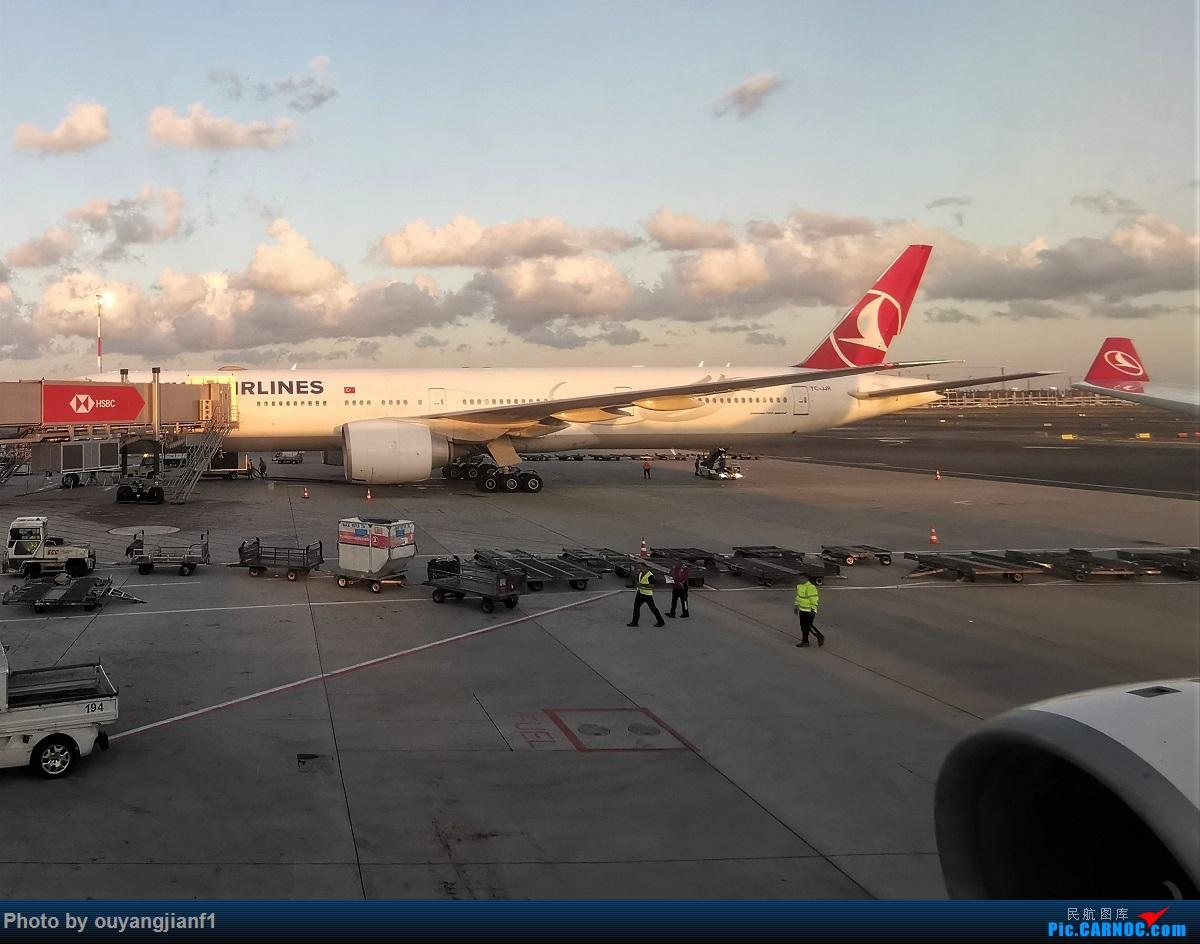 Re:[原创]终于有时间歇下来,可以总结一下2019年飞机游记了,第五段,最疯狂的飞行,十二天内十二飞,五万公里穿越亚、欧、美,去往地球另一端拉美世界的第二次环球飞行! BOEING 777-300ER TC-JJR 伊斯坦布尔新国际机场
