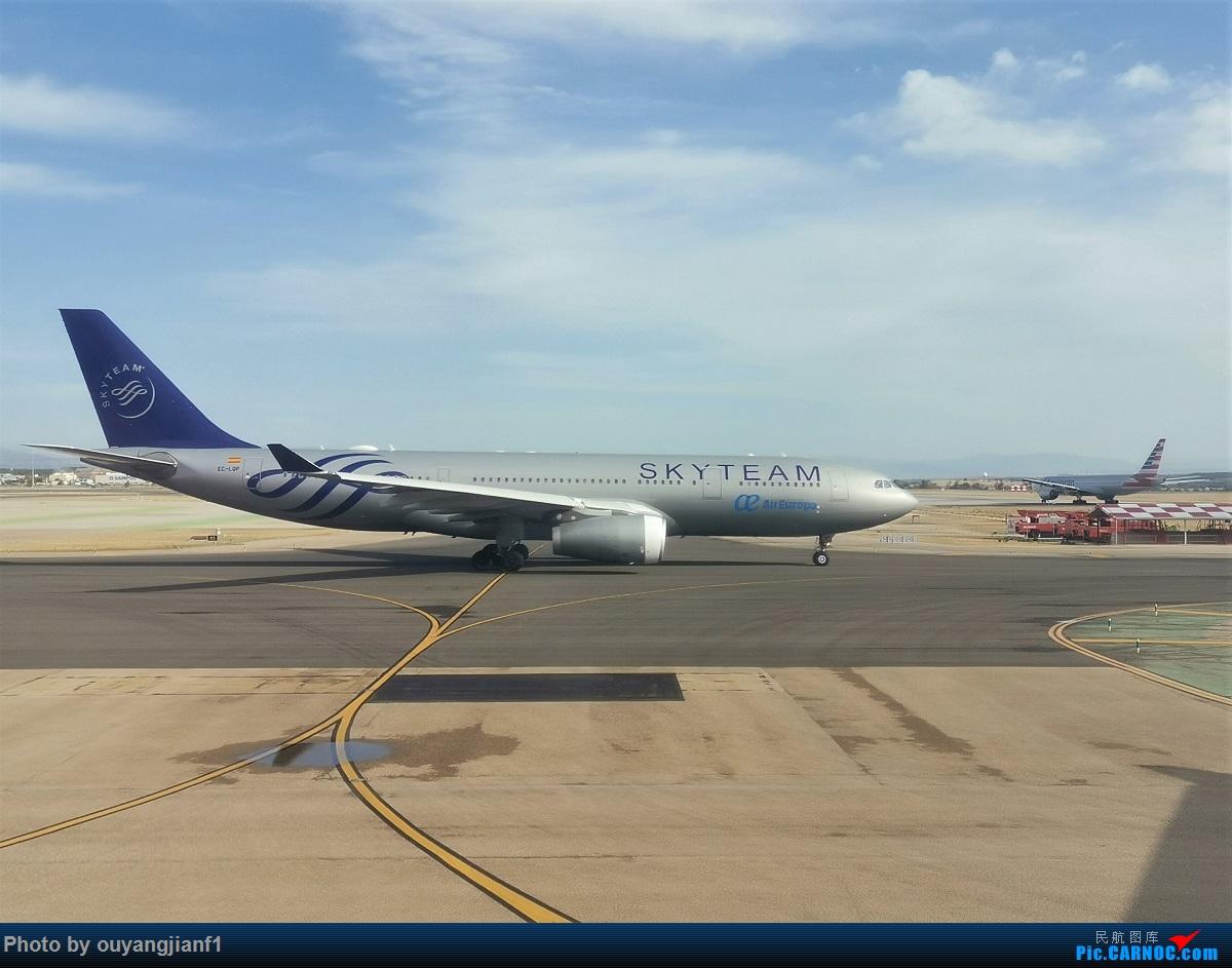 Re:[原创]终于有时间歇下来,可以总结一下2019年飞机游记了,第五段,最疯狂的飞行,十二天内十二飞,五万公里穿越亚、欧、美,去往地球另一端拉美世界的第二次环球飞行! AIRBUS A330-200 EC-LQP 西班牙马德里机场