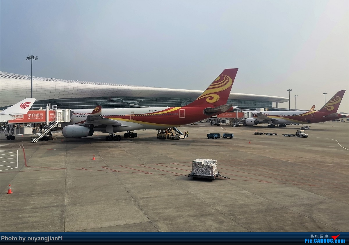 Re:[原创]终于有时间歇下来,可以总结一下2019年飞机游记了,第五段,最疯狂的飞行,十二天内十二飞,五万公里穿越亚、欧、美,去往地球另一端拉美世界的第二次环球飞行! AIRBUS A330-200 B-6519 中国深圳宝安国际机场