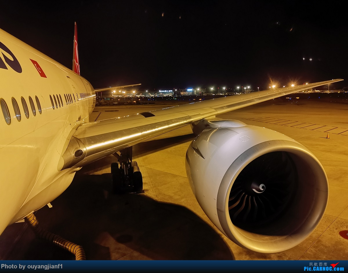 Re:[原创]终于有时间歇下来,可以总结一下2019年飞机游记了,第五段,最疯狂的飞行,十二天内十二飞,五万公里穿越亚、欧、美,去往地球另一端拉美世界的第二次环球飞行! BOEING 777-300ER TC-JJV 中国北京首都国际机场