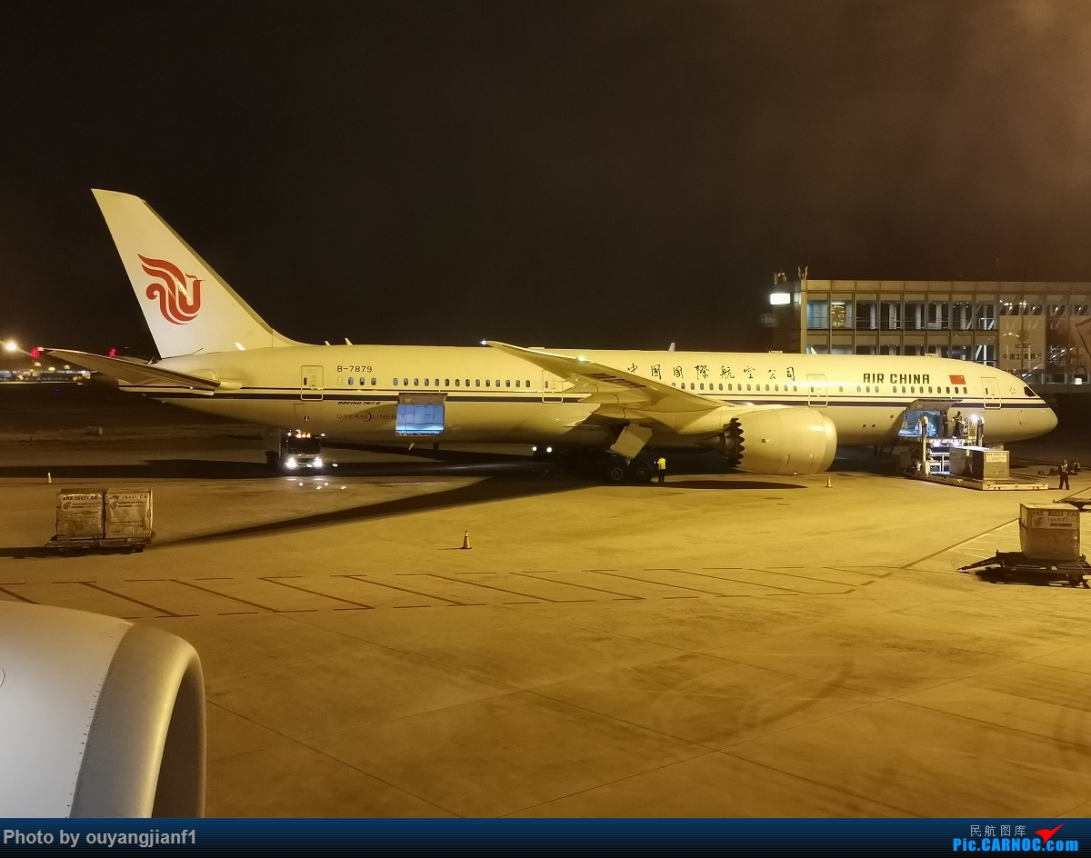 Re:[原创]终于有时间歇下来,可以总结一下2019年飞机游记了,第五段,最疯狂的飞行,十二天内十二飞,五万公里穿越亚、欧、美,去往地球另一端拉美世界的第二次环球飞行! BOEING 787-9 B-7879 中国北京首都国际机场