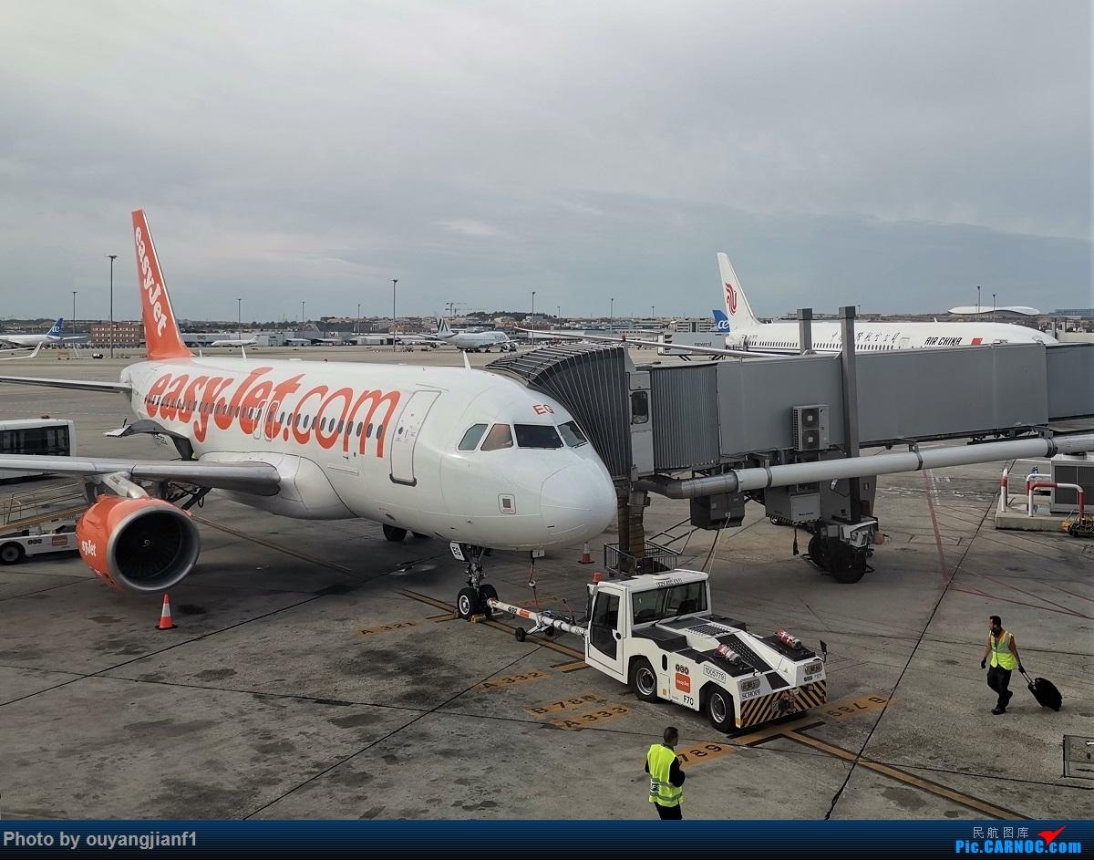 Re:[原创]终于有时间歇下来,可以总结一下2019年飞机游记了,第五段,最疯狂的飞行,十二天内十二飞,五万公里穿越亚、欧、美,去往地球另一端拉美世界的第二次环球飞行! AIRBUS A319-100 G-EZEG 西班牙马德里机场