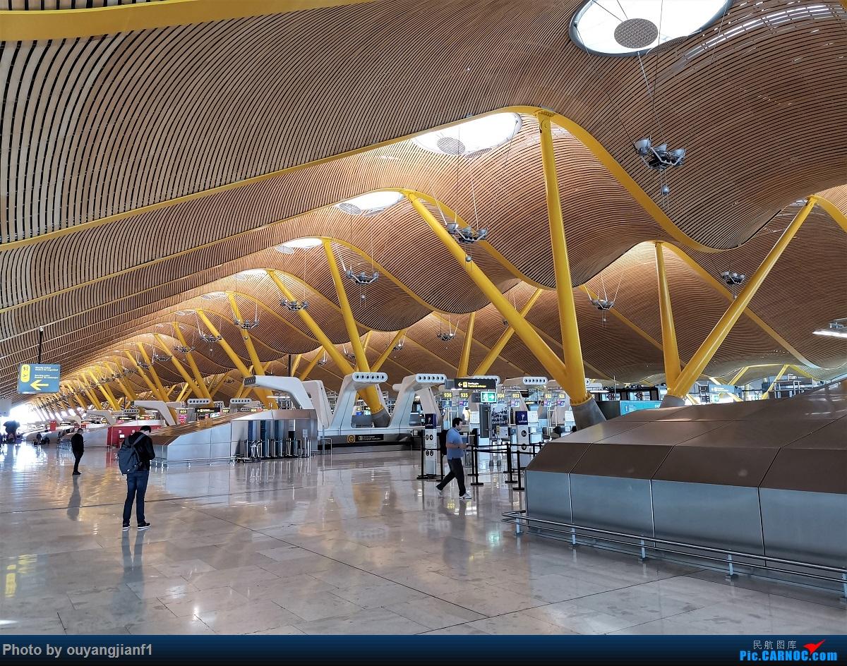 Re:[原创]终于有时间歇下来,可以总结一下2019年飞机游记了,第五段,最疯狂的飞行,十二天内十二飞,五万公里穿越亚、欧、美,去往地球另一端拉美世界的第二次环球飞行!    西班牙马德里机场