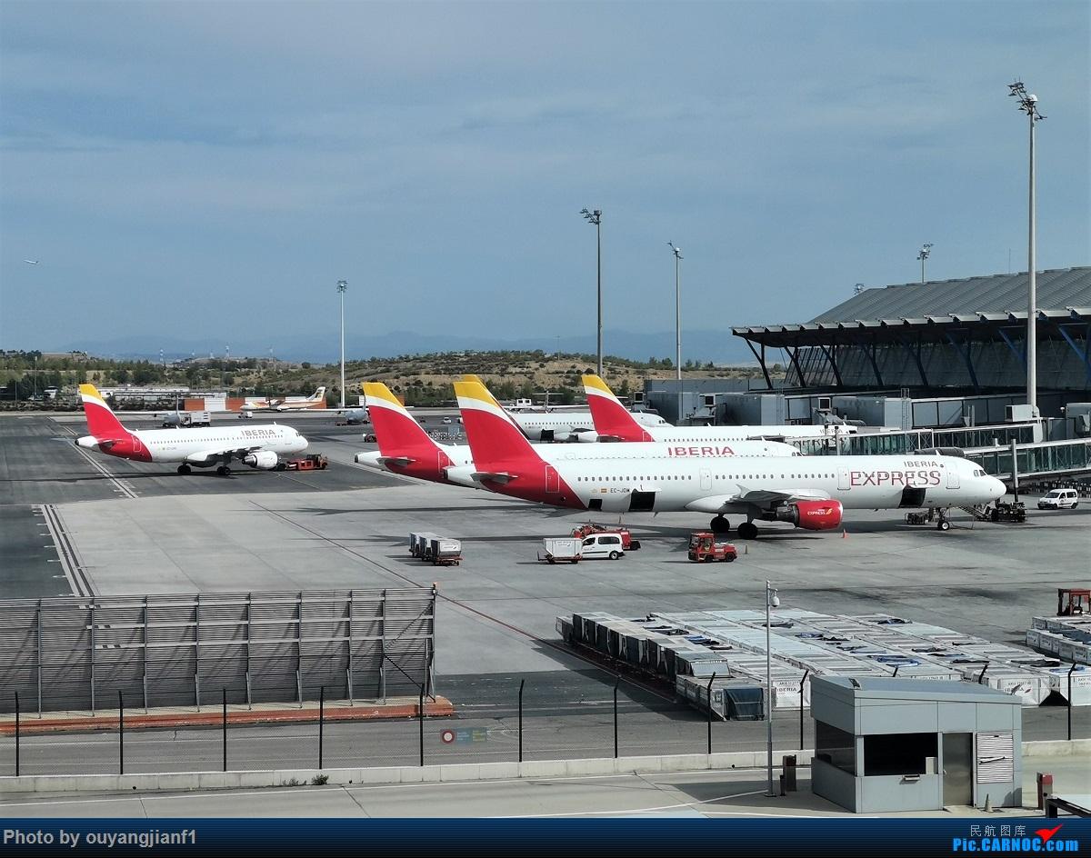 Re:[原创]终于有时间歇下来,可以总结一下2019年飞机游记了,第五段,最疯狂的飞行,十二天内十二飞,五万公里穿越亚、欧、美,去往地球另一端拉美世界的第二次环球飞行! AIRBUS A321-200 EZ-JDM 西班牙马德里机场