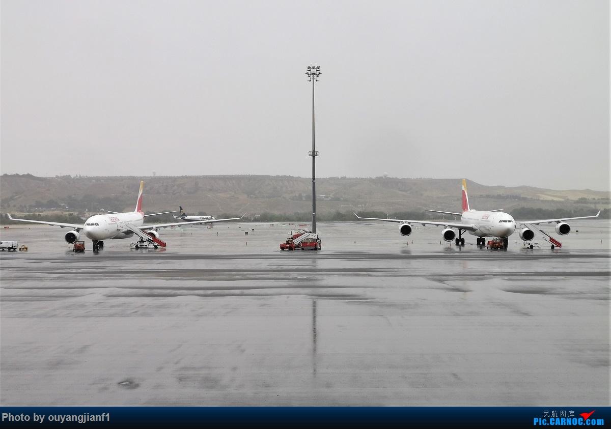 Re:[原创]终于有时间歇下来,可以总结一下2019年飞机游记了,第五段,最疯狂的飞行,十二天内十二飞,五万公里穿越亚、欧、美,去往地球另一端拉美世界的第二次环球飞行! AIRBUS A340-600 EC-IOX 西班牙马德里机场
