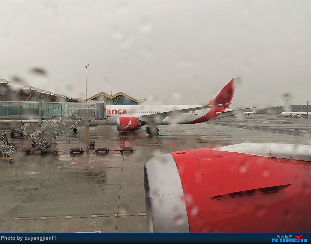 Re:[原创]终于有时间歇下来,可以总结一下2019年飞机游记了,第五段,最疯狂的飞行,十二天内十二飞,五万公里穿越亚、欧、美,去往地球另一端拉美世界的第二次环球飞行! BOEING 787-8 N796AV 西班牙马德里机场