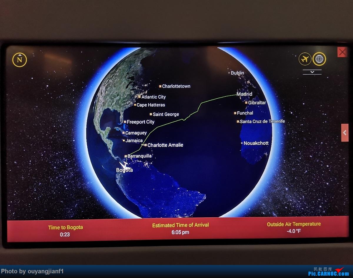 Re:[原创]终于有时间歇下来,可以总结一下2019年飞机游记了,第五段,最疯狂的飞行,十二天内十二飞,五万公里穿越亚、欧、美,去往地球另一端拉美世界的第二次环球飞行! BOEING 787-8 N780AV 空中