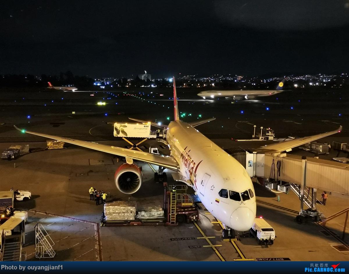 Re:[原创]终于有时间歇下来,可以总结一下2019年飞机游记了,第五段,最疯狂的飞行,十二天内十二飞,五万公里穿越亚、欧、美,去往地球另一端拉美世界的第二次环球飞行! BOEING 787-8 N780AV 哥伦比亚波哥大埃尔多拉多国际机场