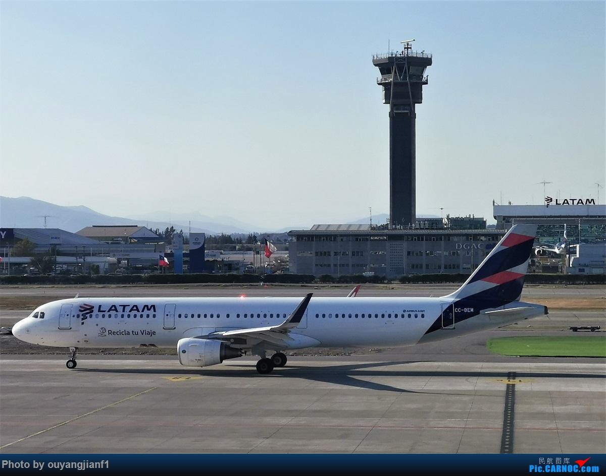 Re:[原创]终于有时间歇下来,可以总结一下2019年飞机游记了,第五段,最疯狂的飞行,十二天内十二飞,五万公里穿越亚、欧、美,去往地球另一端拉美世界的第二次环球飞行! AIRBUS A321-200 CC-BEM 智利圣地亚哥机场