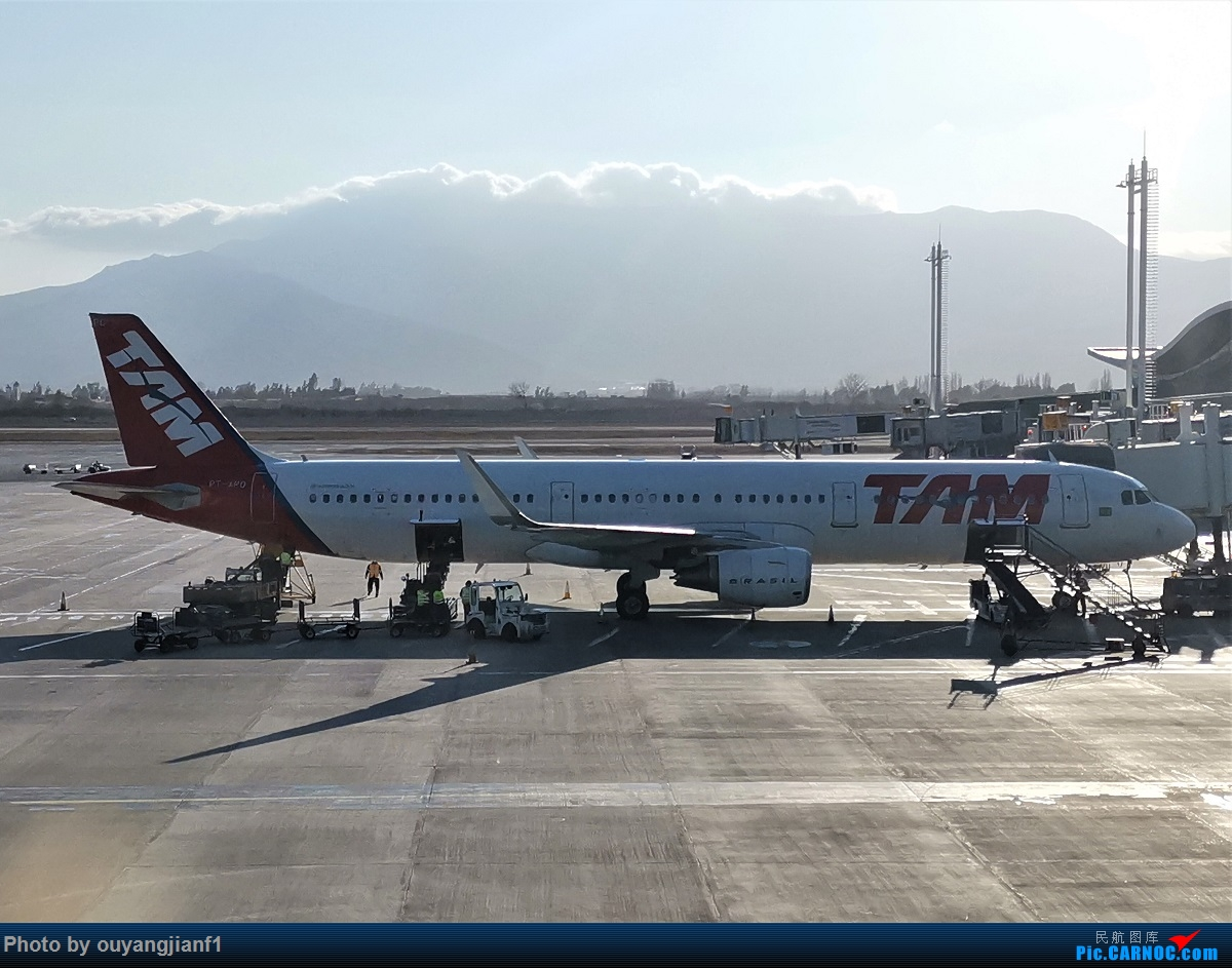 Re:[原创]终于有时间歇下来,可以总结一下2019年飞机游记了,第五段,最疯狂的飞行,十二天内十二飞,五万公里穿越亚、欧、美,去往地球另一端拉美世界的第二次环球飞行! AIRBUS A321-200 PT-CPO 智利圣地亚哥机场