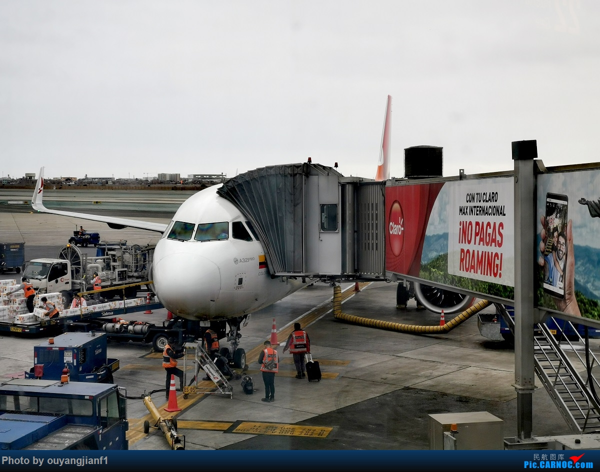 Re:[原创]终于有时间歇下来,可以总结一下2019年飞机游记了,第五段,最疯狂的飞行,十二天内十二飞,五万公里穿越亚、欧、美,去往地球另一端拉美世界的第二次环球飞行! AIRBUS A321NEO N761AV 秘鲁利马机场