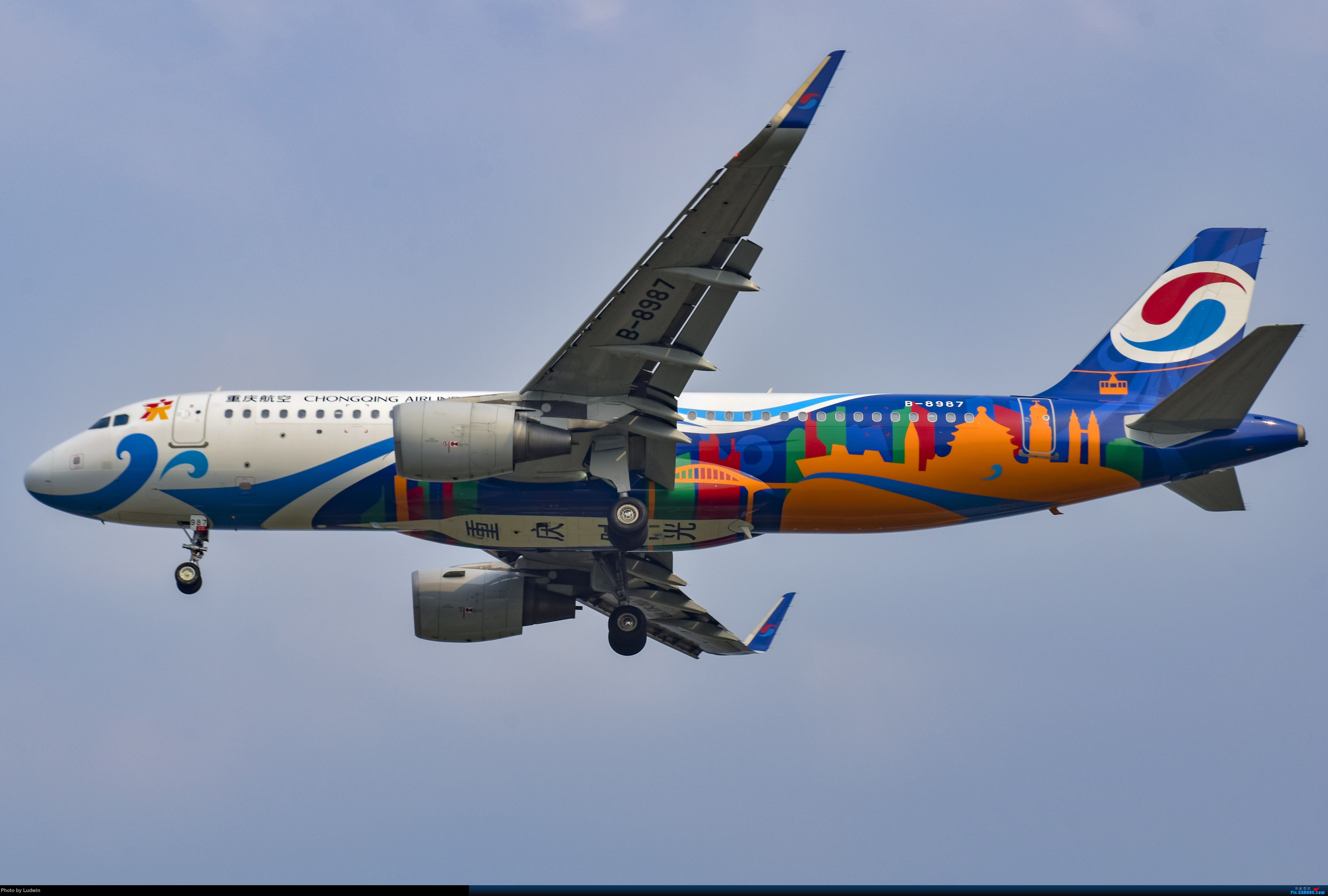Re:[原创]没有地景系列 AIRBUS A320-200 B-8987 中国重庆江北国际机场
