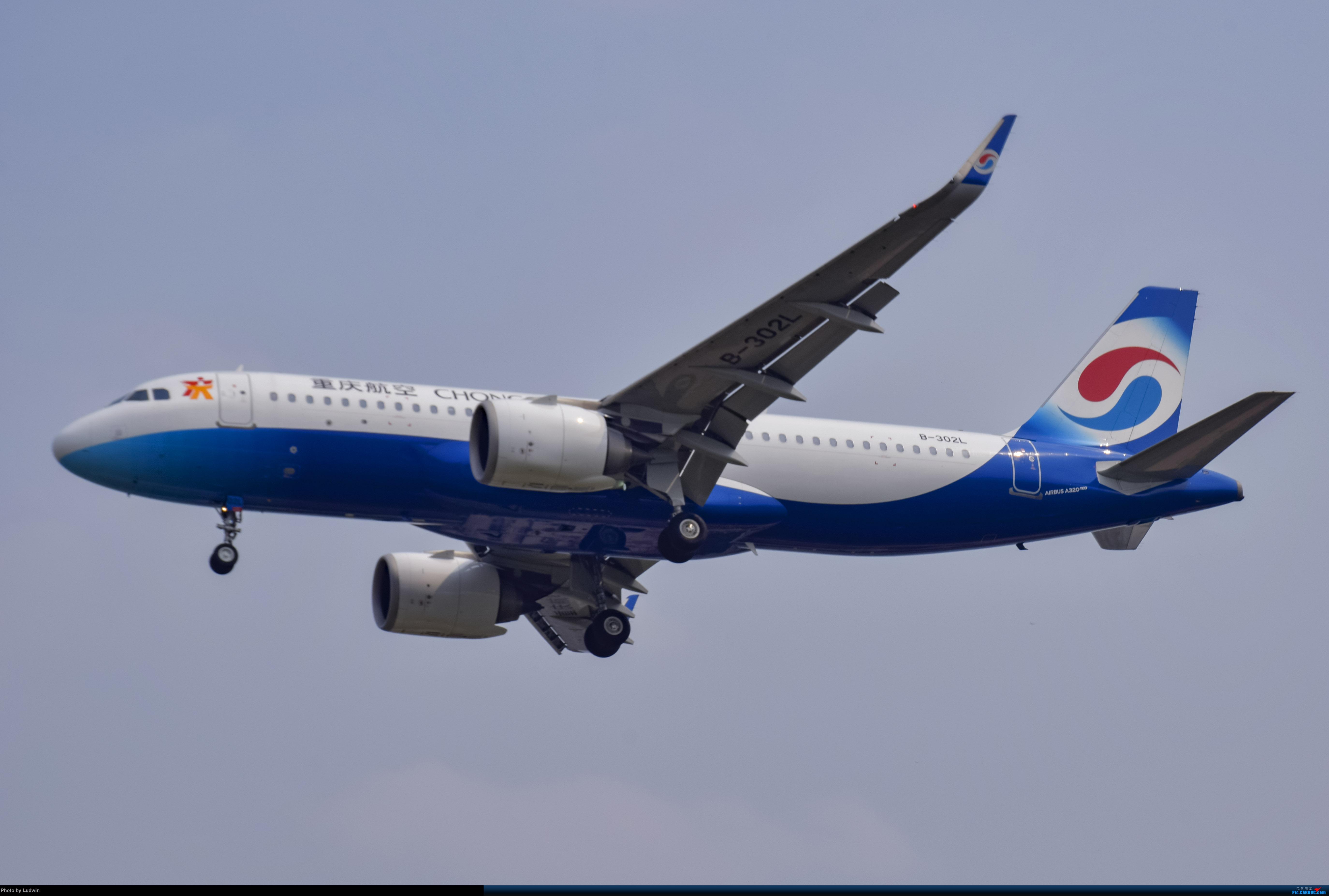 Re:[原创]没有地景系列 AIRBUS A320NEO B-302L 中国重庆江北国际机场
