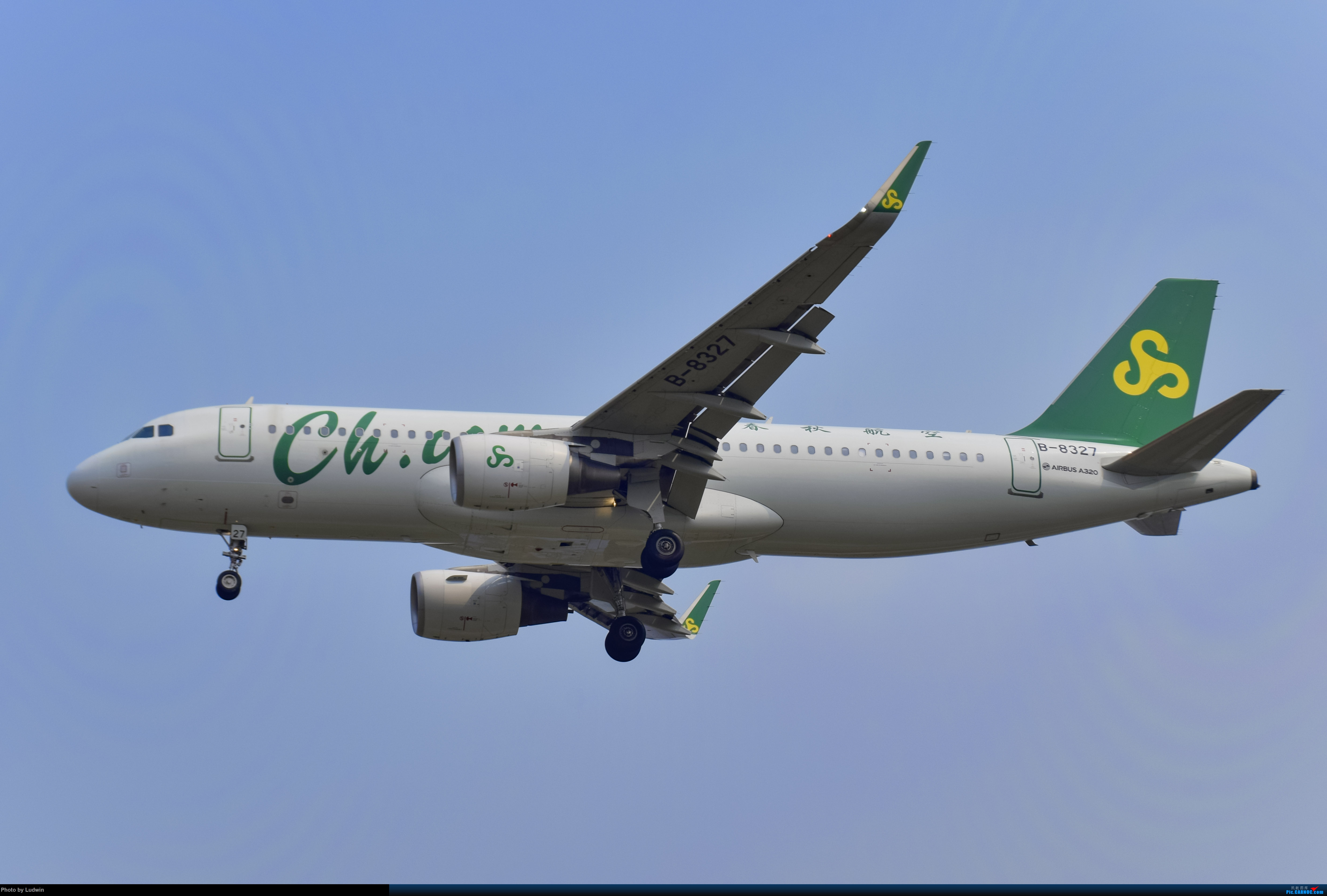 Re:[原创]没有地景系列 AIRBUS A320-200 B-8327 中国重庆江北国际机场