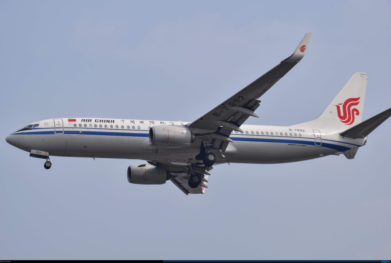 Re:[原创]没有地景系列 BOEING 737-800 B-7892 中国重庆江北国际机场