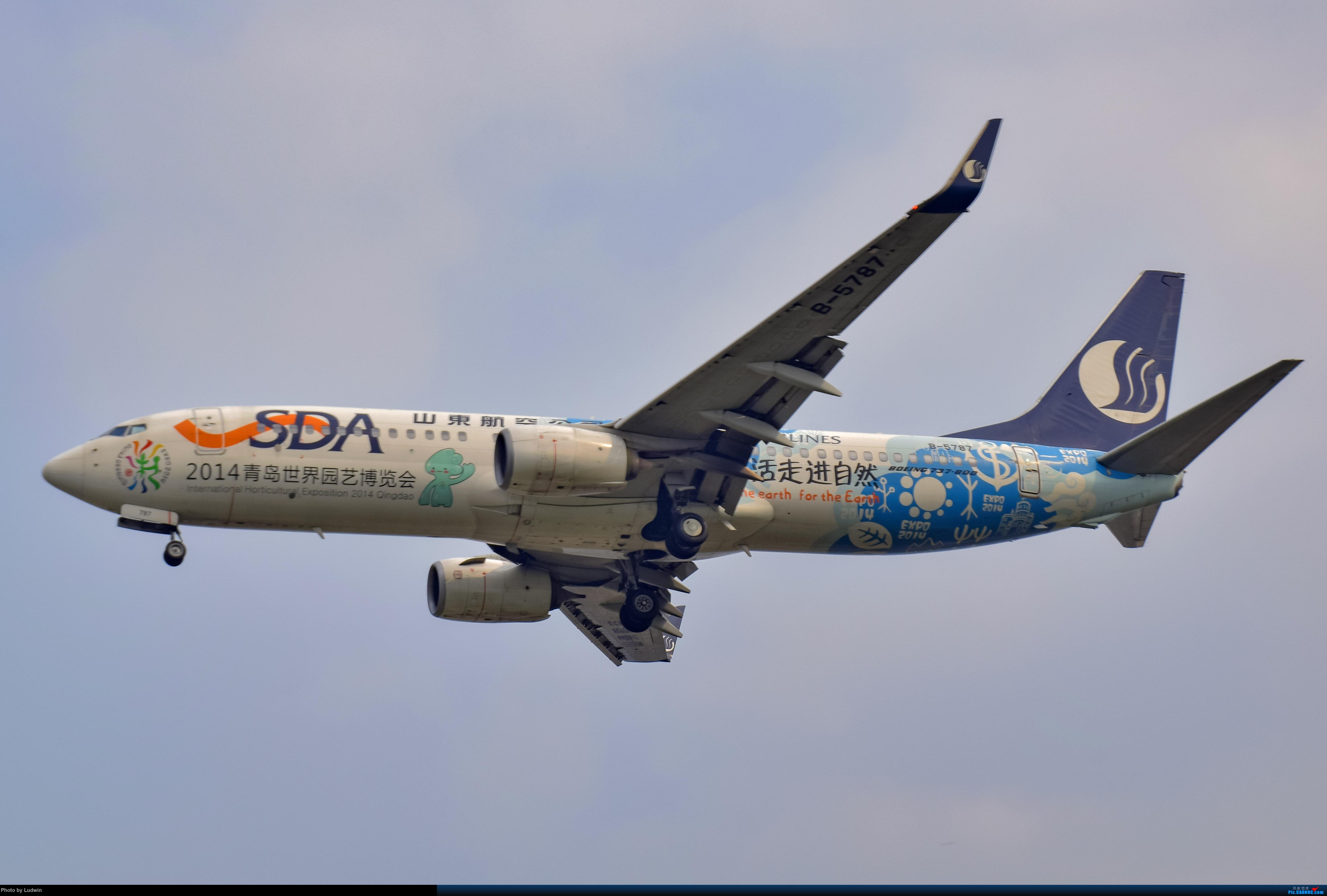 Re:[原创]没有地景系列 BOEING 737-800 B-5787 中国重庆江北国际机场