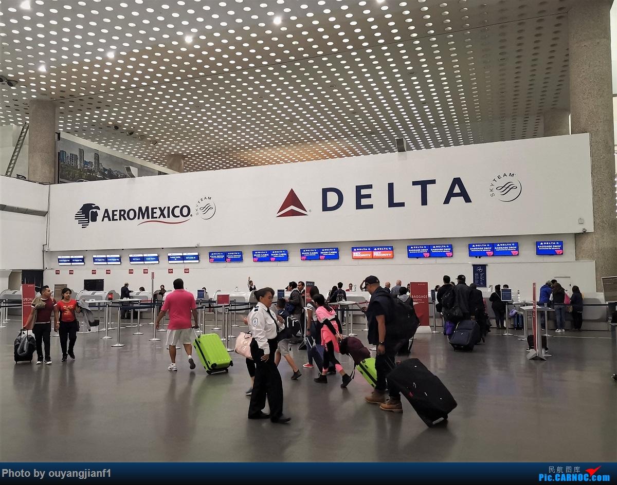 Re:[原创]终于有时间歇下来,可以总结一下2019年飞游记了,第五段,最疯狂的飞行,十二天内十二飞,五万公里穿越亚、欧、美,去往地球另一端拉美世界的第二次环球飞行!    墨西哥墨西哥城机场