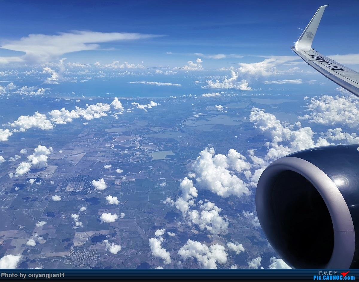 Re:[原创]终于有时间歇下来,可以总结一下2019年飞游记了,第五段,最疯狂的飞行,十二天内十二飞,五万公里穿越亚、欧、美,去往地球另一端拉美世界的第二次环球飞行! BOEING 737-800 XA-AMM 空中