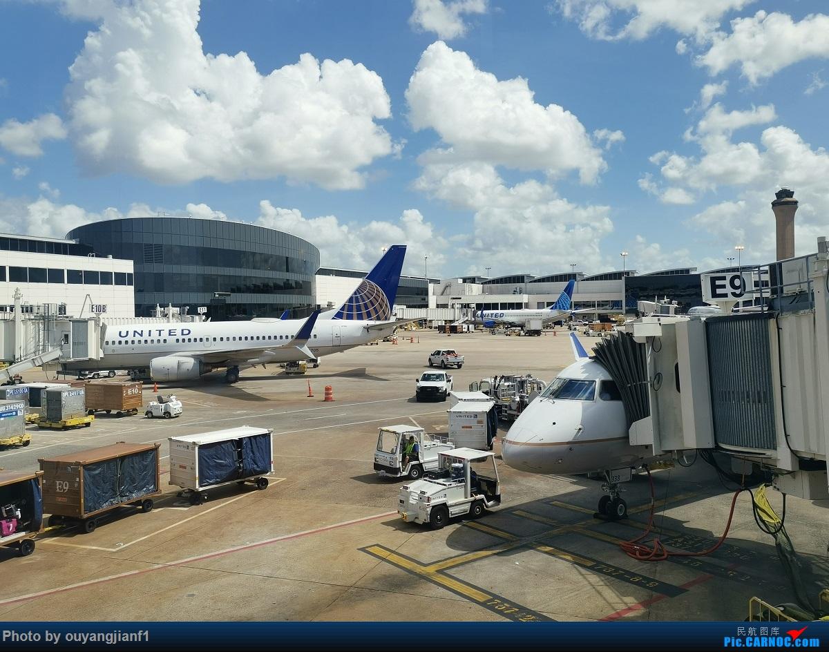 Re:[原创]终于有时间歇下来,可以总结一下2019年飞游记了,第五段,最疯狂的飞行,十二天内十二飞,五万公里穿越亚、欧、美,去往地球另一端拉美世界的第二次环球飞行! EMBRAER E-175 N82338 美国休斯敦乔治·布什洲际机场