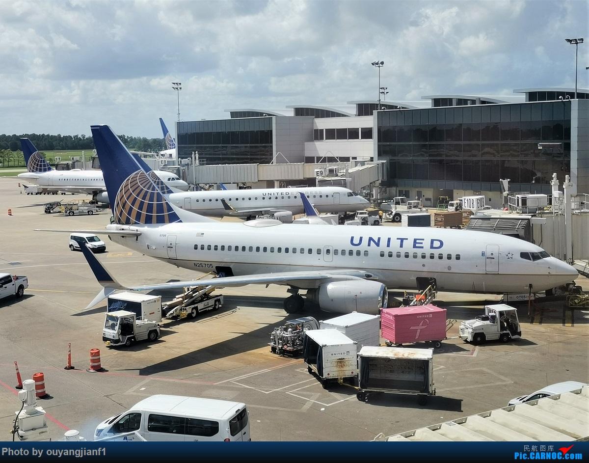 Re:[原创]终于有时间歇下来,可以总结一下2019年飞游记了,第五段,最疯狂的飞行,十二天内十二飞,五万公里穿越亚、欧、美,去往地球另一端拉美世界的第二次环球飞行! BOEING 737-700 N25705 美国休斯敦乔治·布什洲际机场