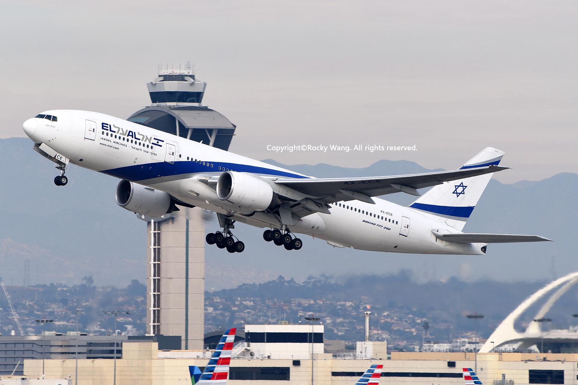 Re:[原创]居家了 批量处理老图 倾情奉献52家777 BOEING 777-258(ER) 4X-ECE Los Angeles Int'l Airport