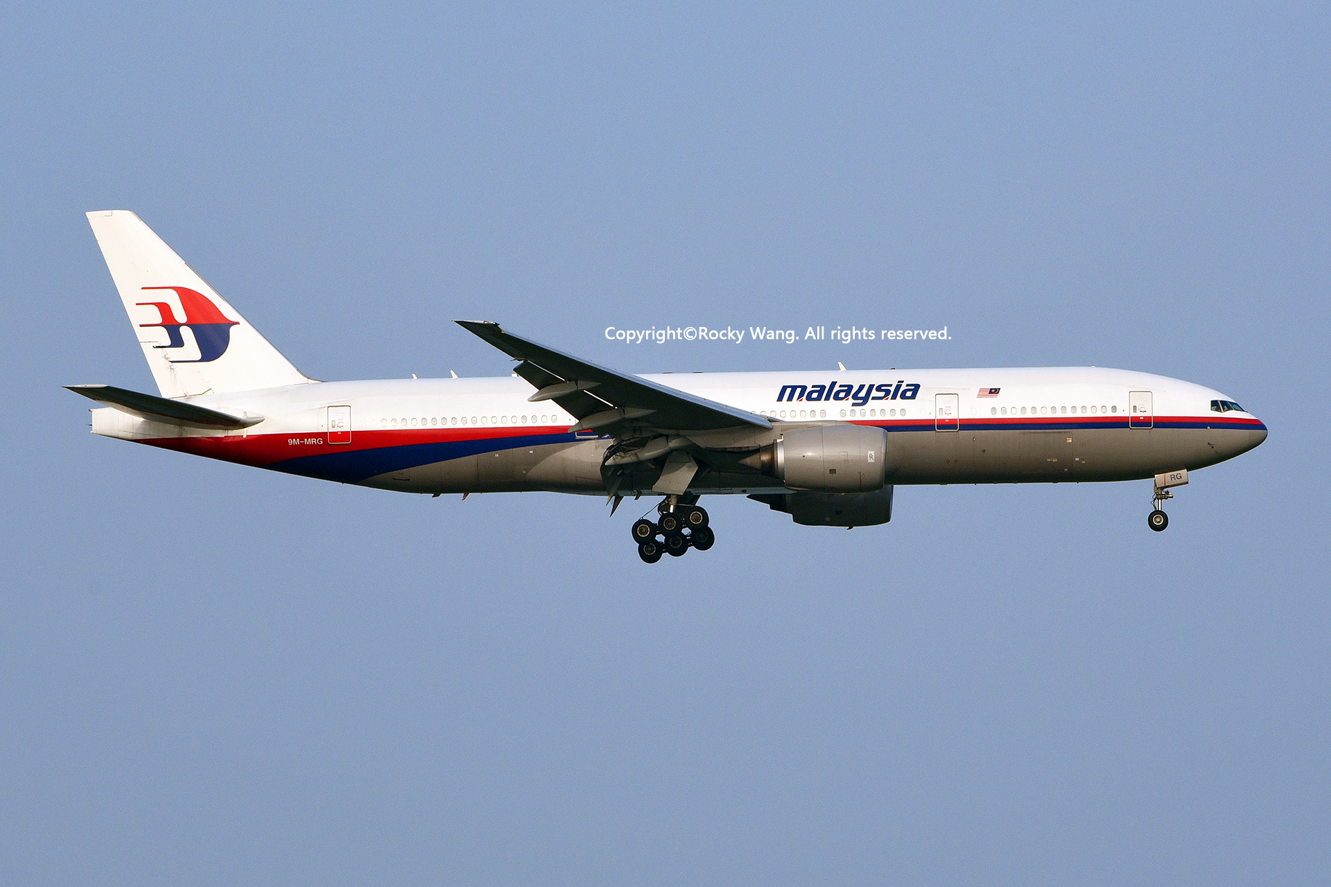 Re:[原创]居家了 批量处理老图 倾情奉献52家777 BOEING 777-2H6(ER) 9M-MRG Shanghai Pudong