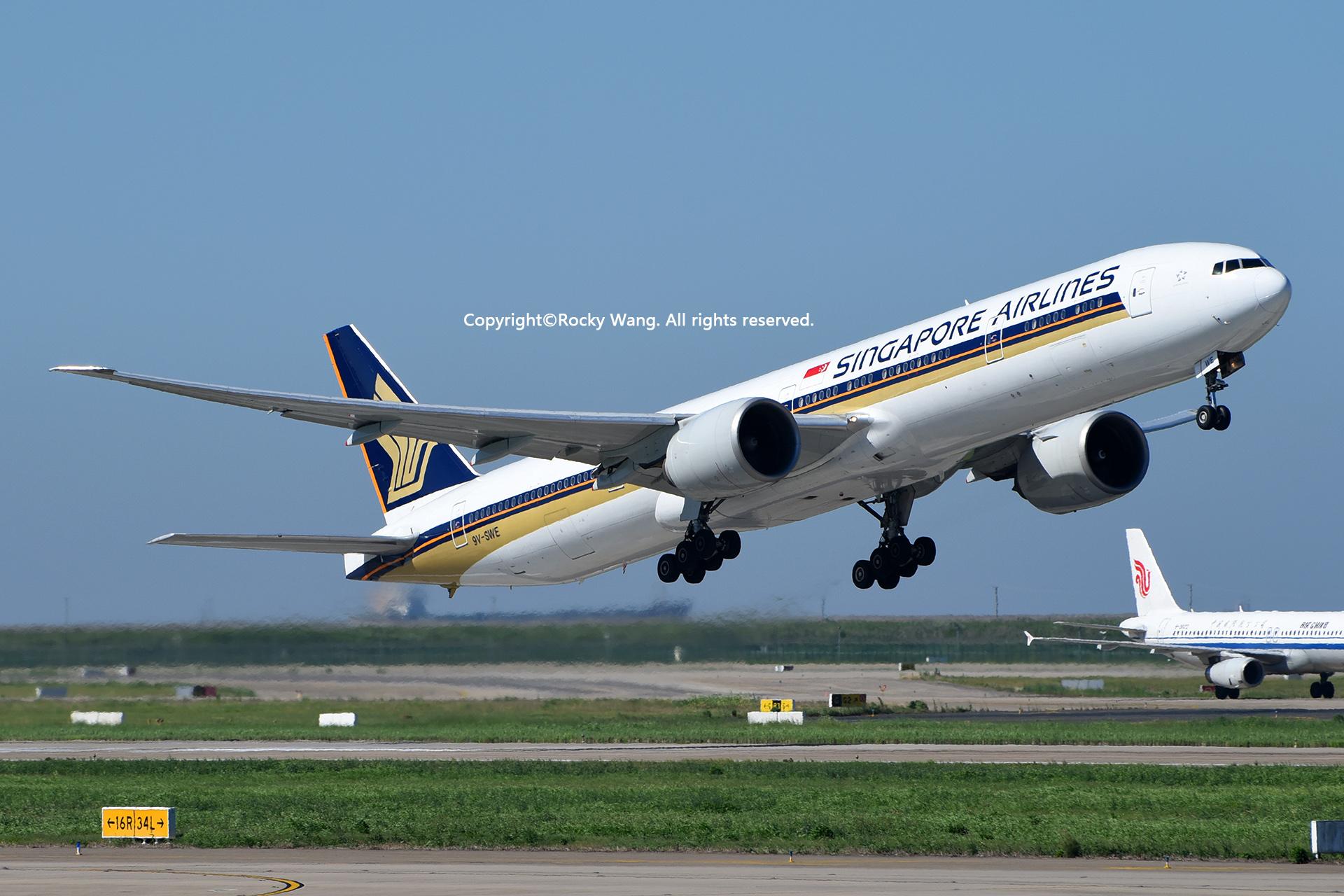 Re:[原创]居家了 批量处理老图 倾情奉献52家777 BOEING 777-312ER 9V-SWE Shanghai Pudong