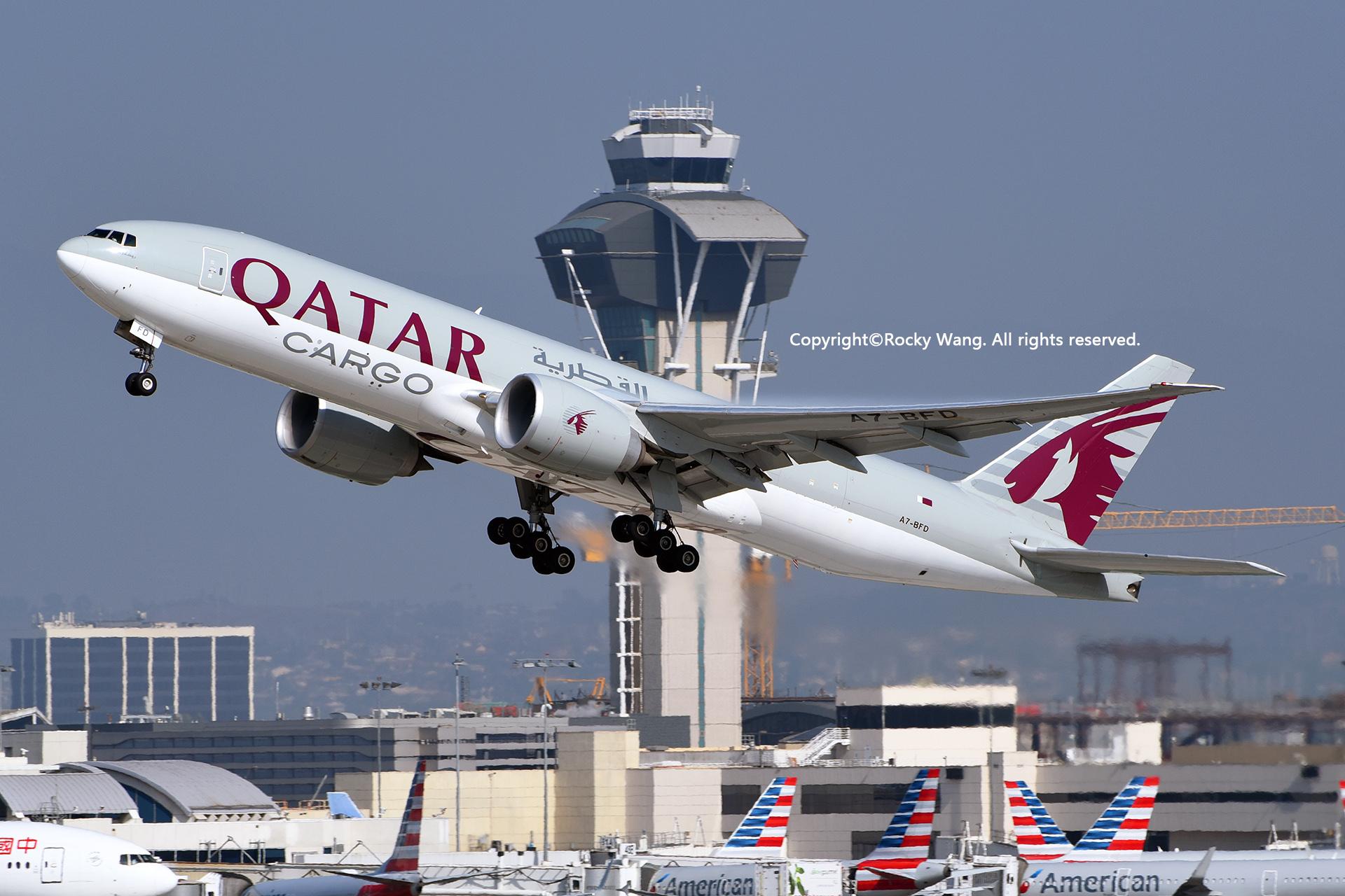 Re:[原创]居家了 批量处理老图 倾情奉献52家777 BOEING 777-FDZ A7-BFD Los Angeles Int'l Airport