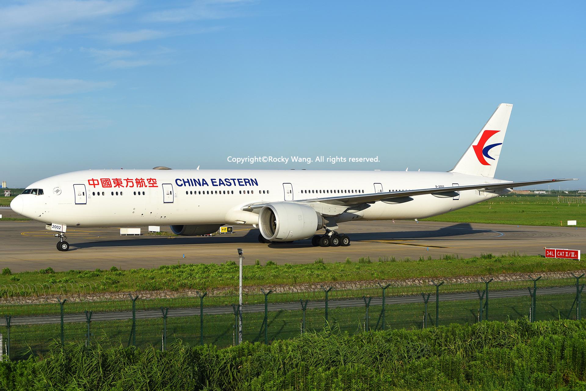 Re:[原创]居家了 批量处理老图 倾情奉献52家777 BOEING 777-39PER B-2002 Shanghai Pudong