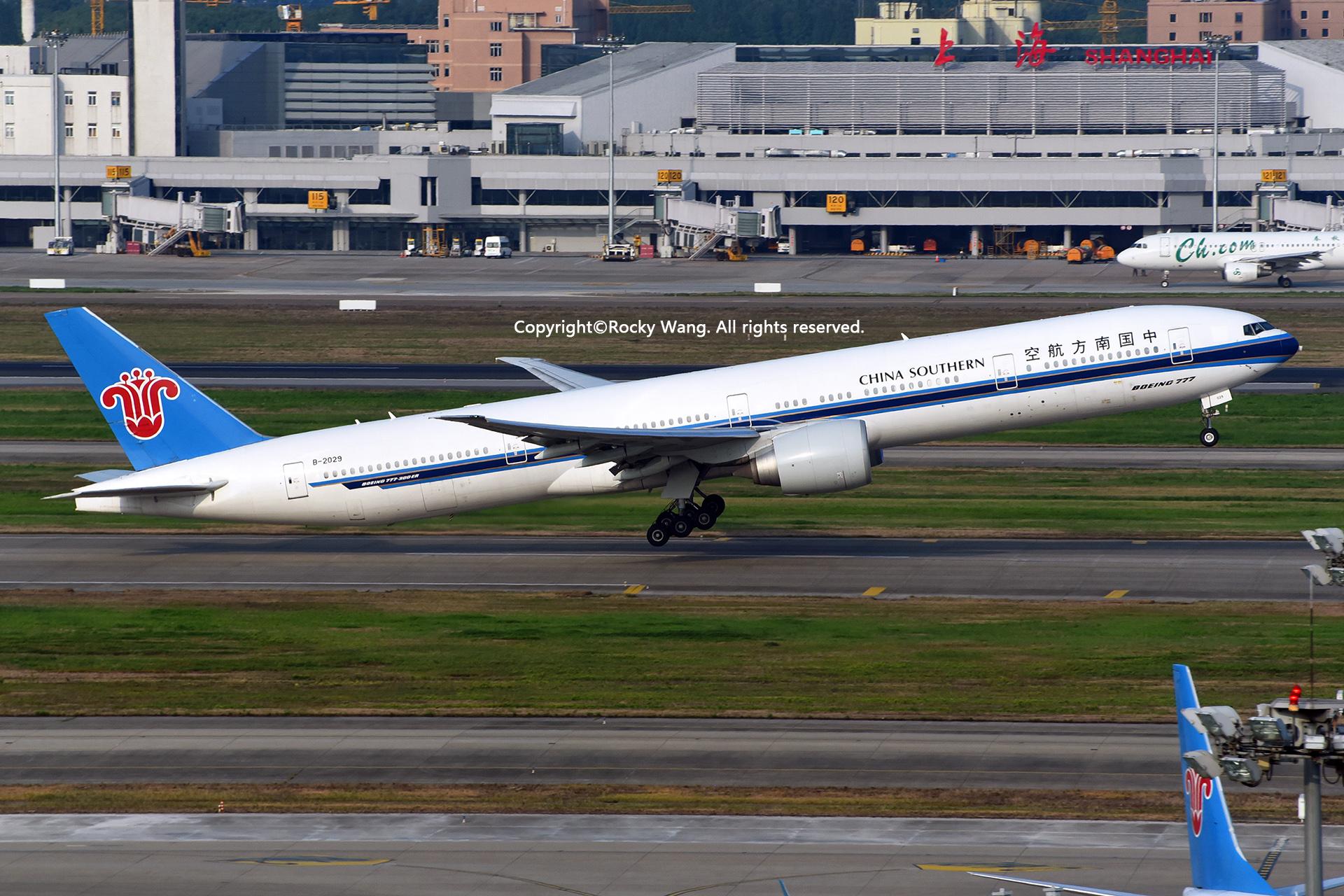 Re:[原创]居家了 批量处理老图 倾情奉献52家777 BOEING 777-31BER B-2029 Shanghai-Hongqiao