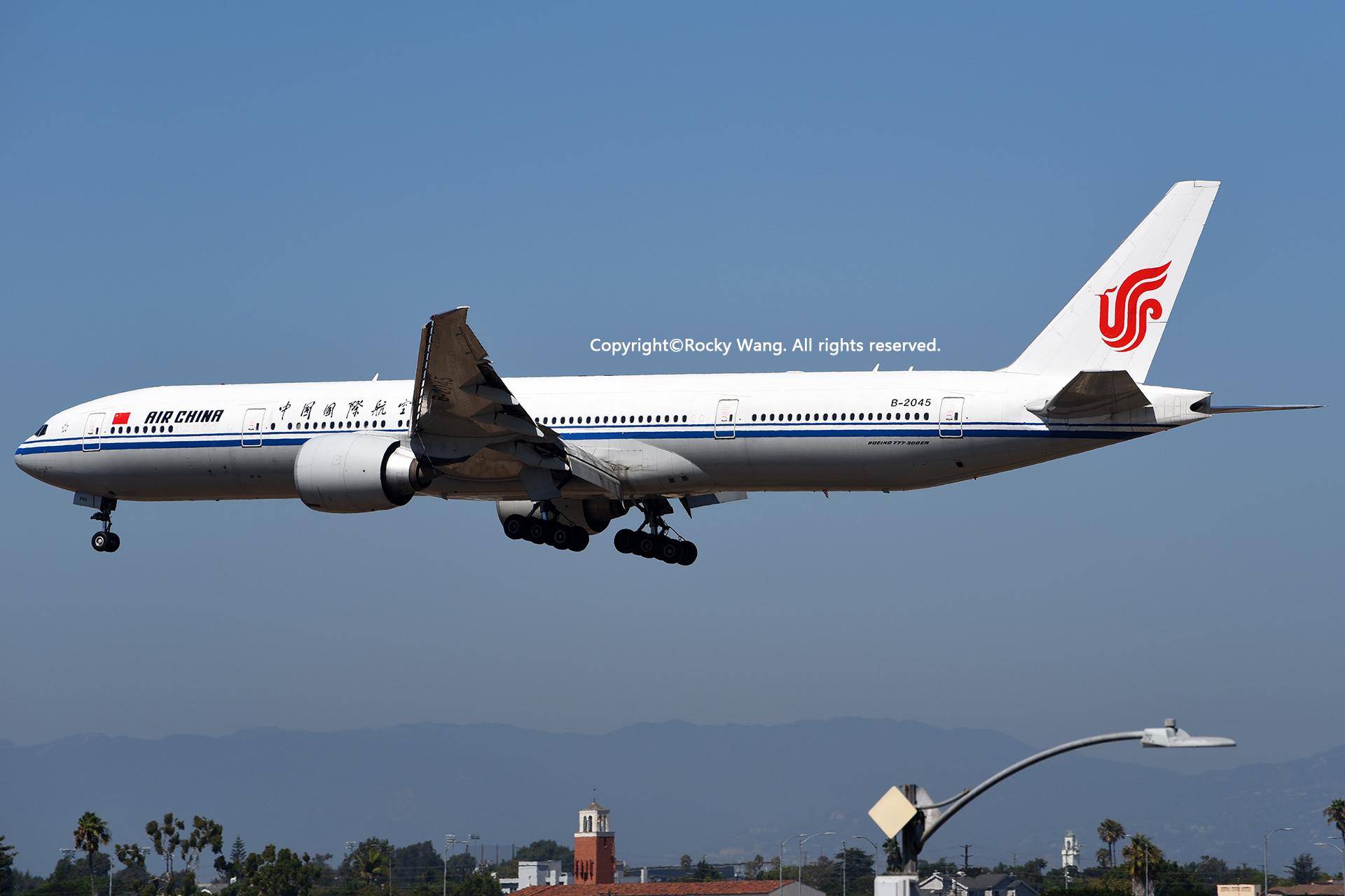 Re:[原创]居家了 批量处理老图 倾情奉献52家777 BOEING 777-39LER B-2045 Los Angeles Int'l Airport