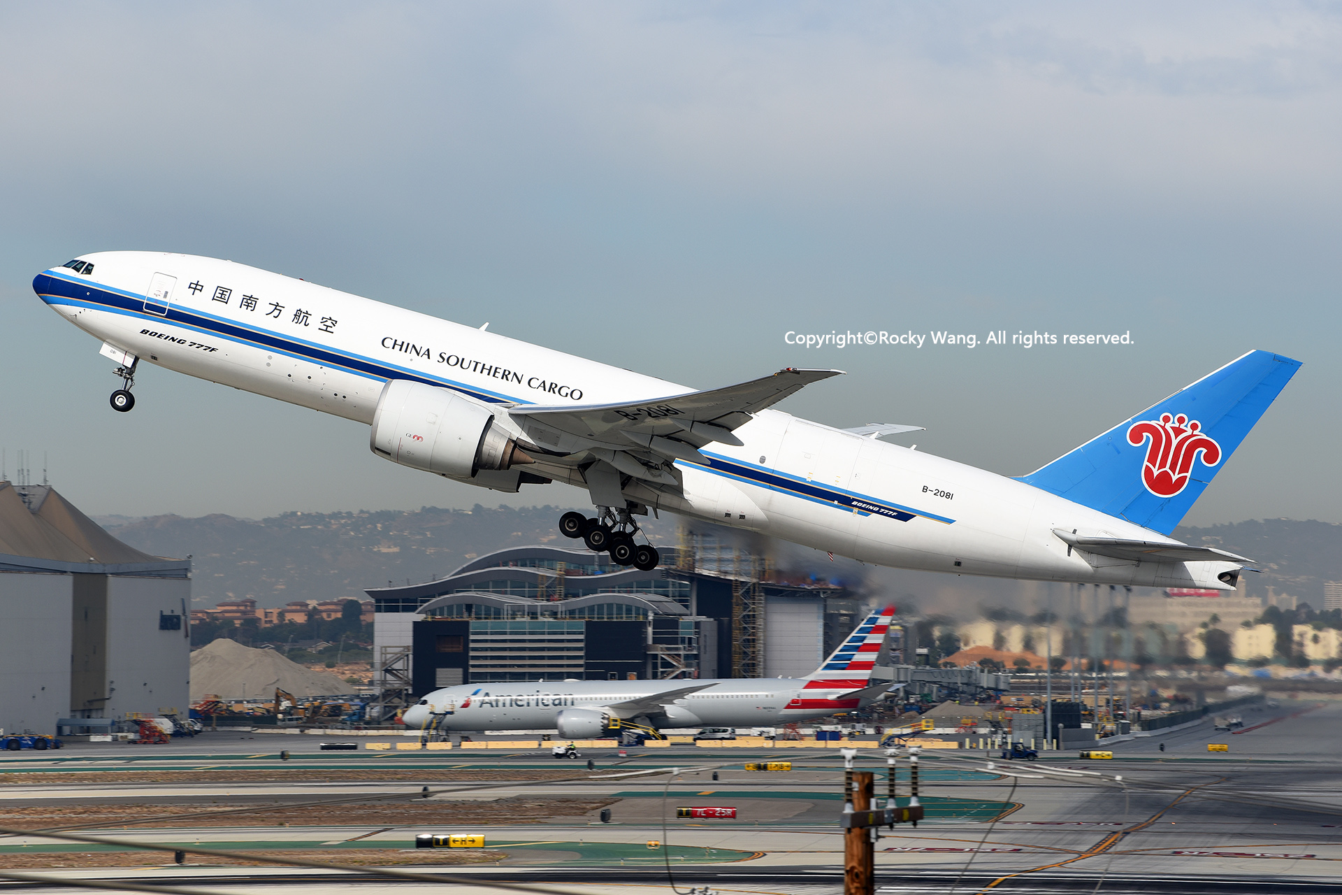 Re:[原创]居家了 批量处理老图 倾情奉献52家777 BOEING 777-F1B B-2081 Los Angeles Int'l Airport