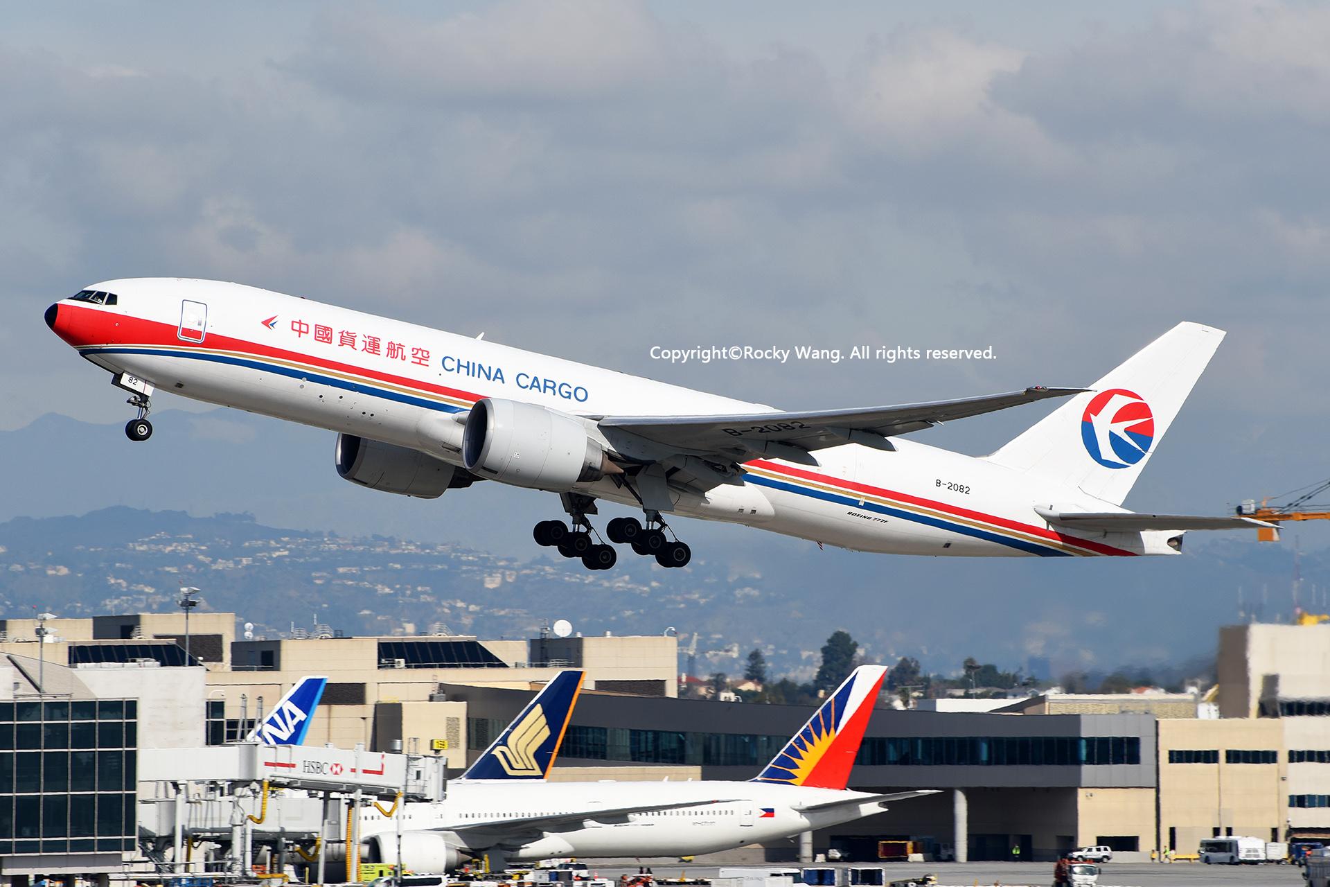 Re:[原创]居家了 批量处理老图 倾情奉献52家777 BOEING 777-F6N B-2082 Los Angeles Int'l Airport