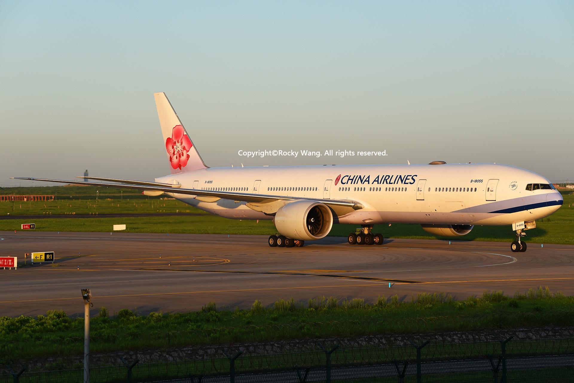 Re:[原创]居家了 批量处理老图 倾情奉献52家777 BOEING 777-36NER B-18055 Shanghai Pudong