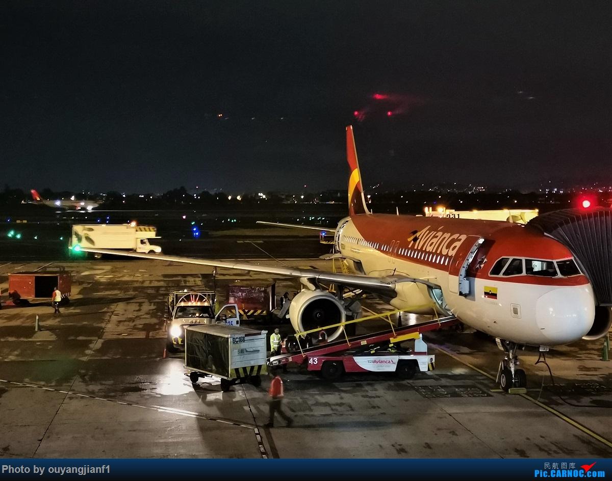 Re:[原创]终于有时间歇下来,可以总结一下2019年飞游记了,第五段,最疯狂的飞行,十二天内十二飞,五万公里穿越亚、欧、美,去往地球另一端拉美世界的第二次环球飞行! AIRBUS A320-200 N599AV 哥伦比亚波哥大埃尔多拉多国际机场
