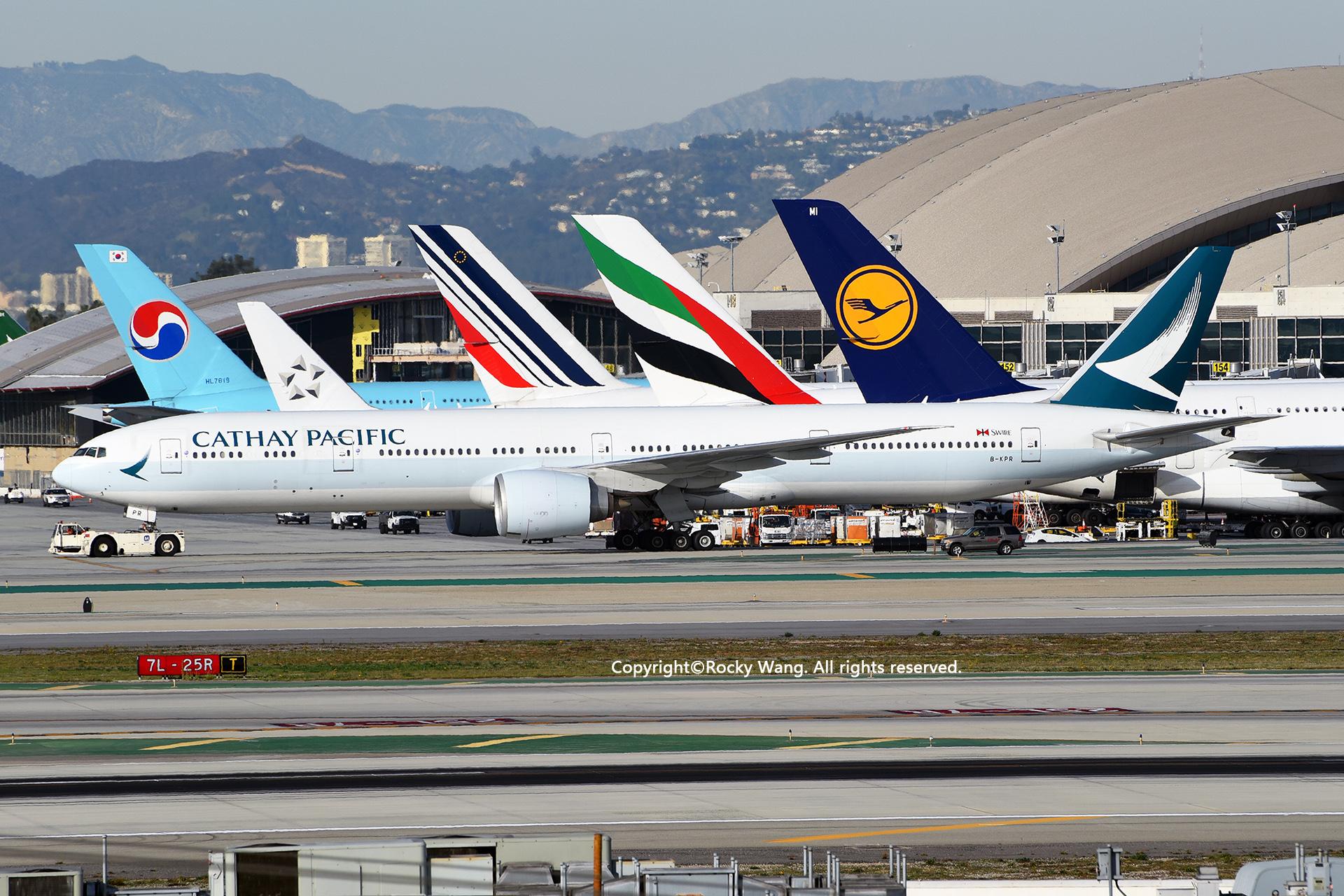 Re:[原创]居家了 批量处理老图 倾情奉献52家777 BOEING 777-367ER B-KPR Los Angeles Int'l Airport