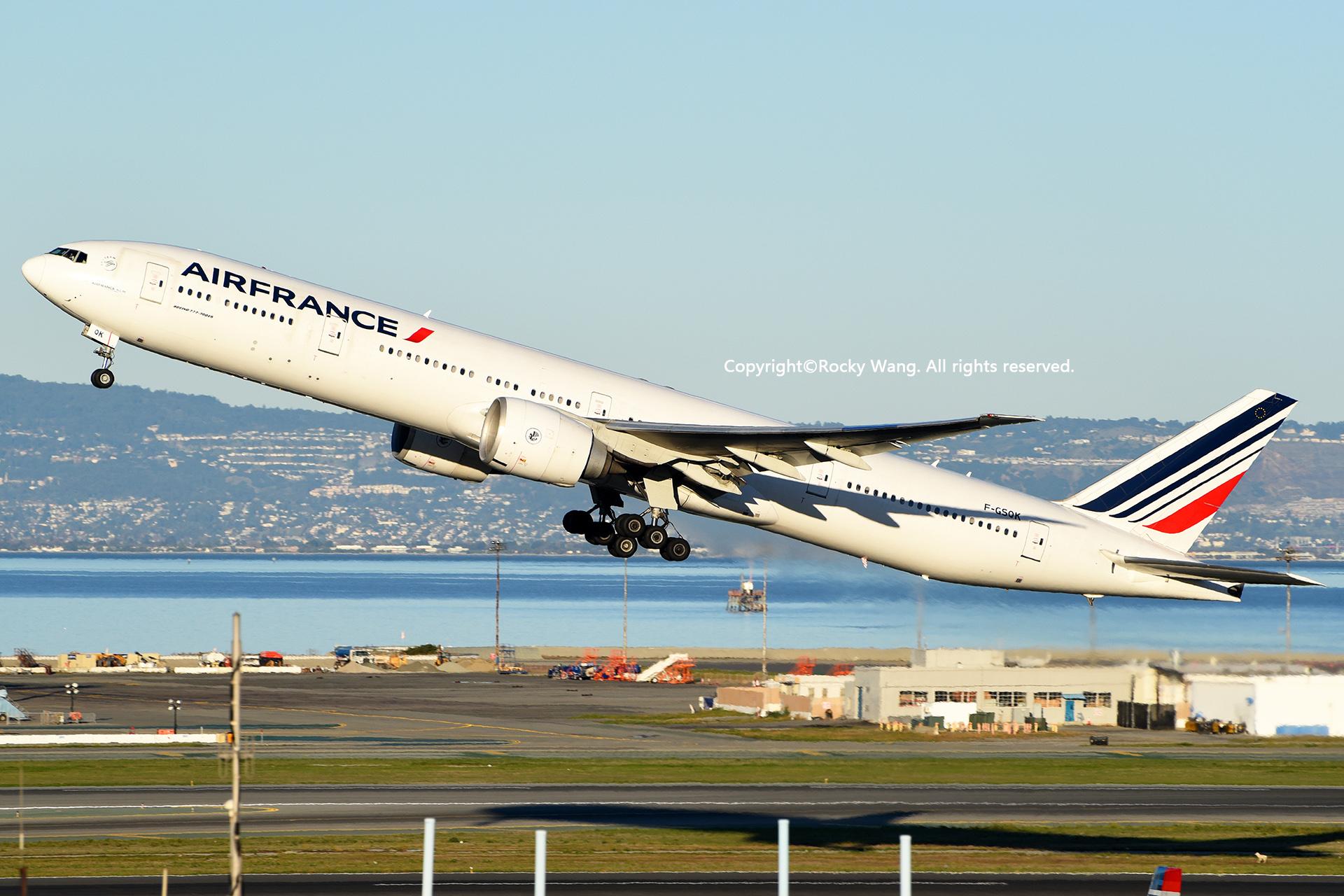 Re:[原创]居家了 批量处理老图 倾情奉献52家777 BOEING 777-328ER F-GSQK San Francisco Int'l Airport